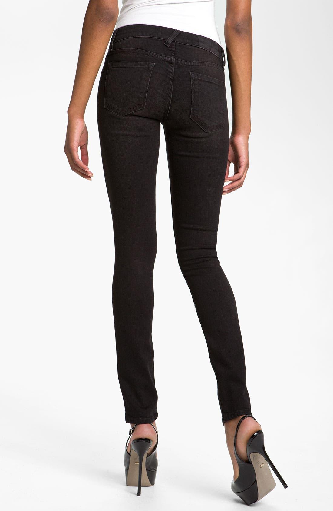 Alternate Image 2  - TEXTILE Elizabeth and James 'Debbie' Studded Skinny Jeans