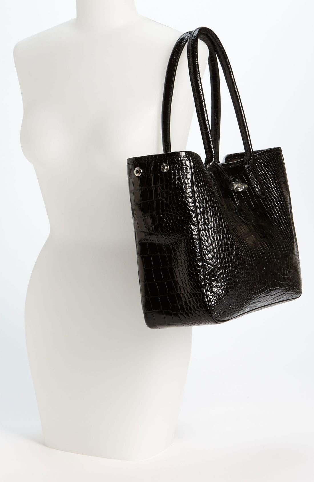 Alternate Image 2  - Longchamp 'Roseau Croco' Shoulder Tote