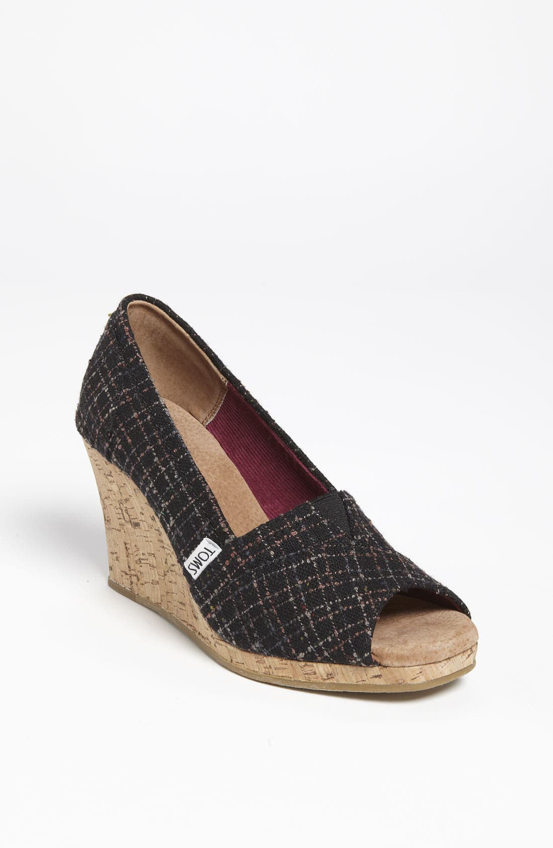 Alternate Image 1 Selected - TOMS Bouclé Wedge