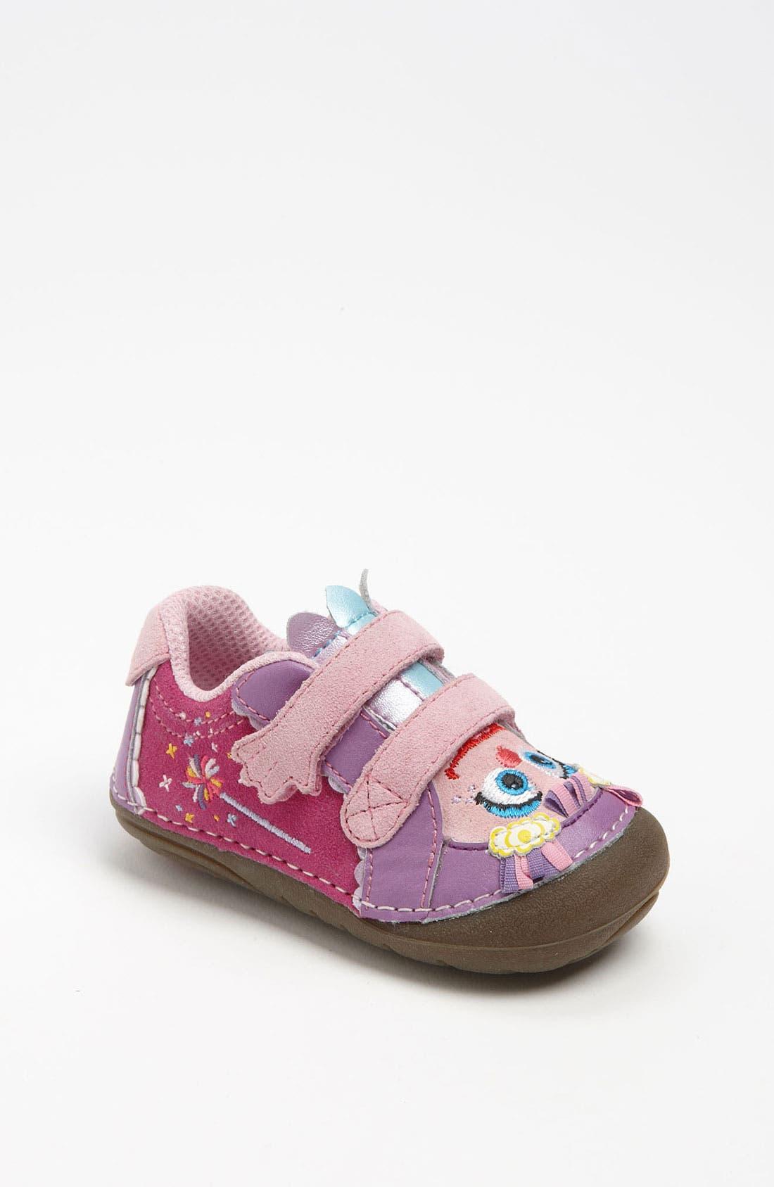 Main Image - Stride Rite 'Sesame Street® - Abby Cadaby' Sneaker (Baby & Walker)