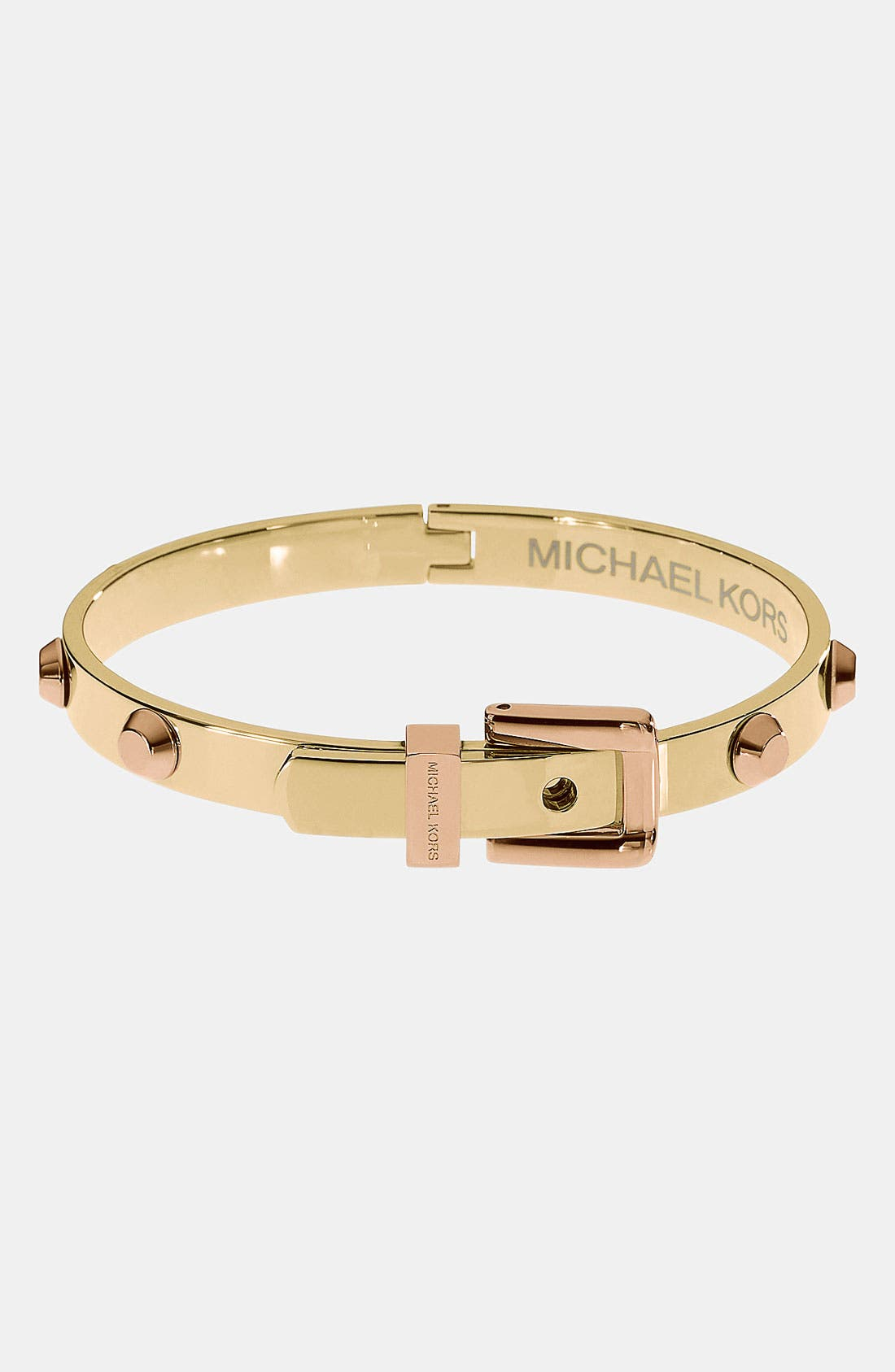 Alternate Image 1 Selected - Michael Kors 'Astor' Buckle Bangle