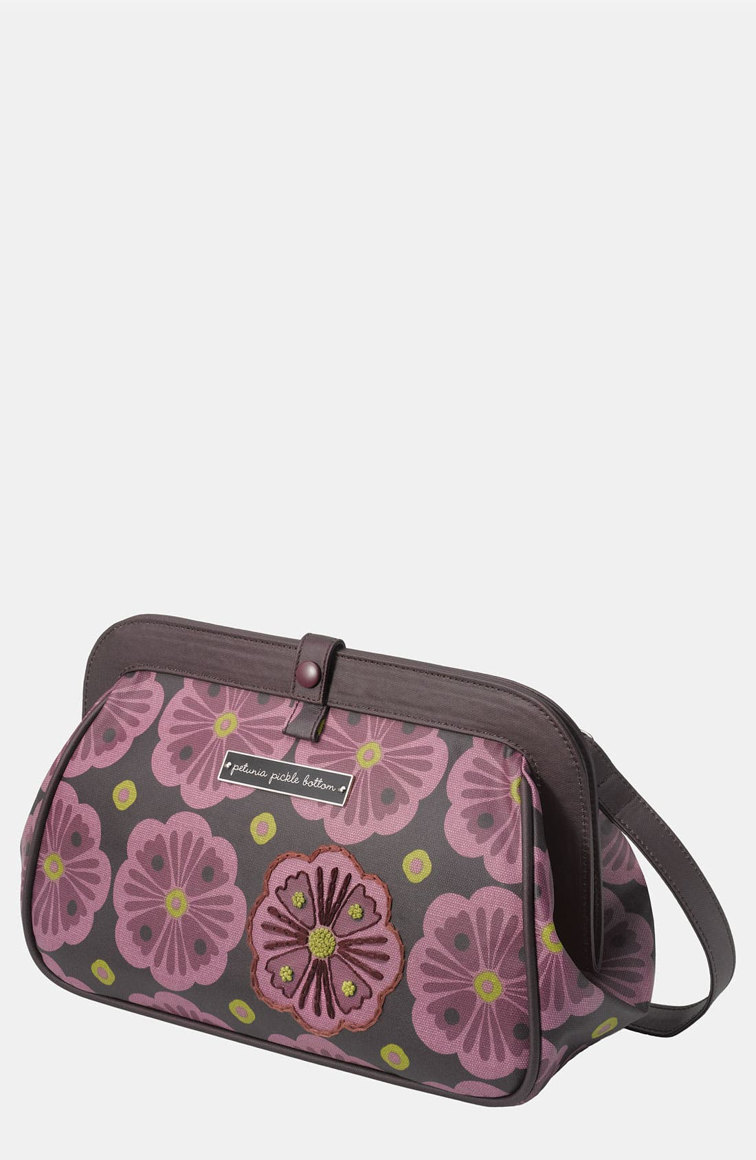 Alternate Image 1 Selected - Petunia Pickle Bottom Coated Canvas Clutch