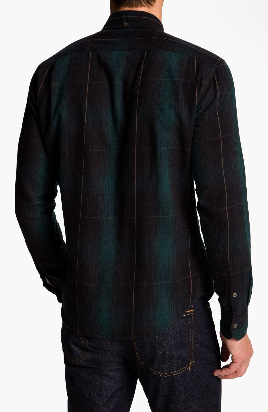 Alternate Image 2  - Vince Cotton Flannel Shirt
