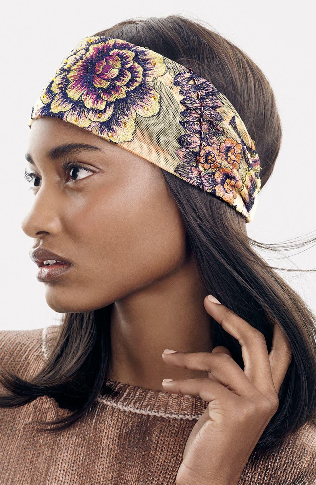 Main Image - Tasha Vintage Floral Head Wrap