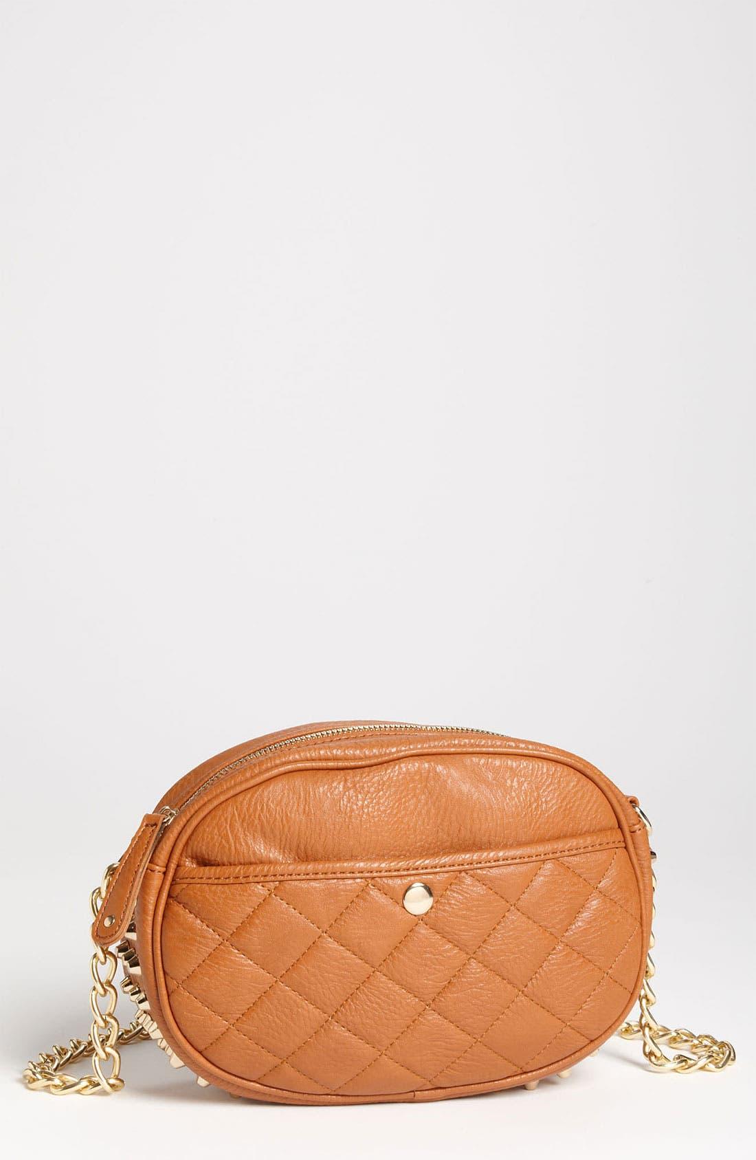 Alternate Image 1 Selected - Street Level Studded Crossbody Bag