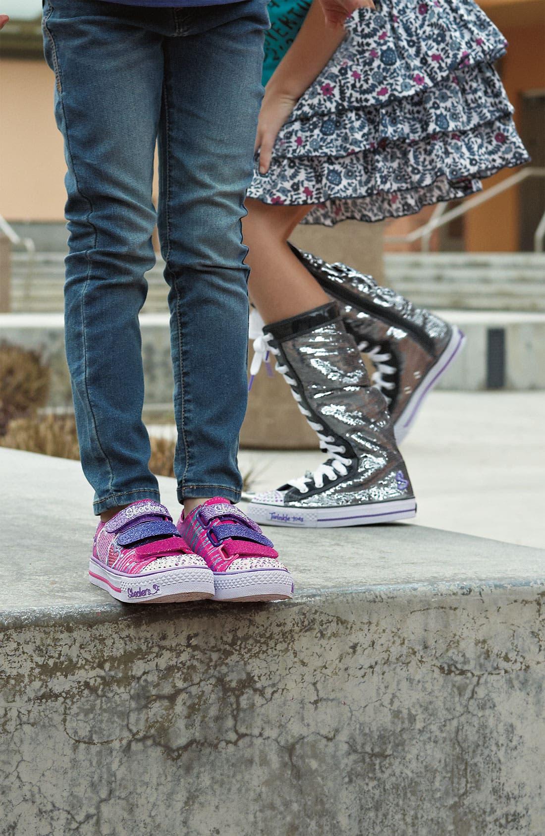 Alternate Image 5  - SKECHERS 'Electric Dreams' Tall Sneaker (Toddler, Little Kid & Big Kid)