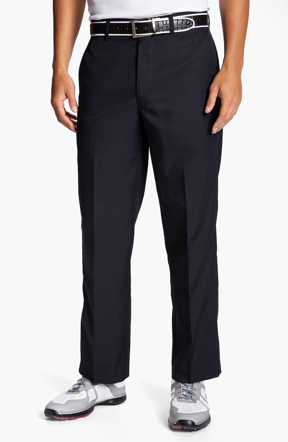 Alternate Image 1 Selected - Callaway Golf® 'Tech' Flat Front Pants