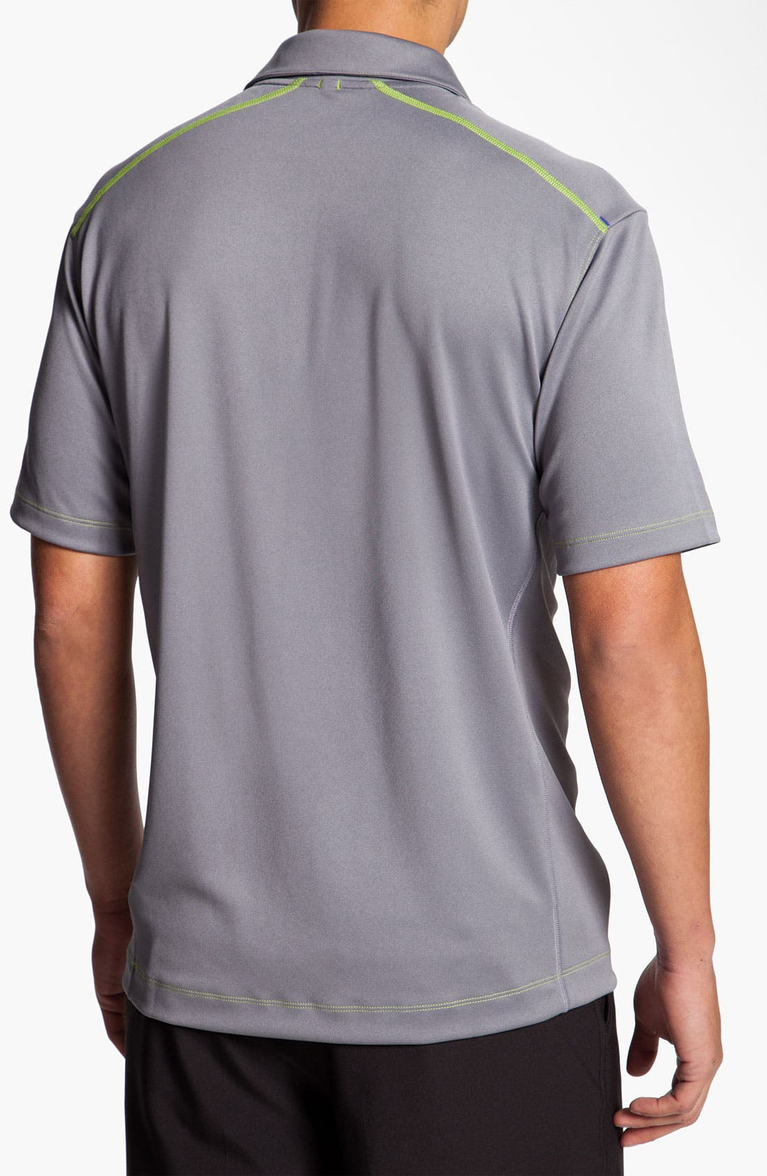 Alternate Image 2  - Nike Golf 'Herringbone Jacquard' Dri-FIT Polo