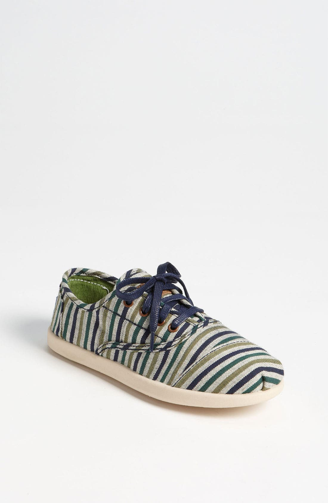 Main Image - TOMS 'Cordones Youth - Renato' Slip-On (Toddler, Little Kid & Big Kid)
