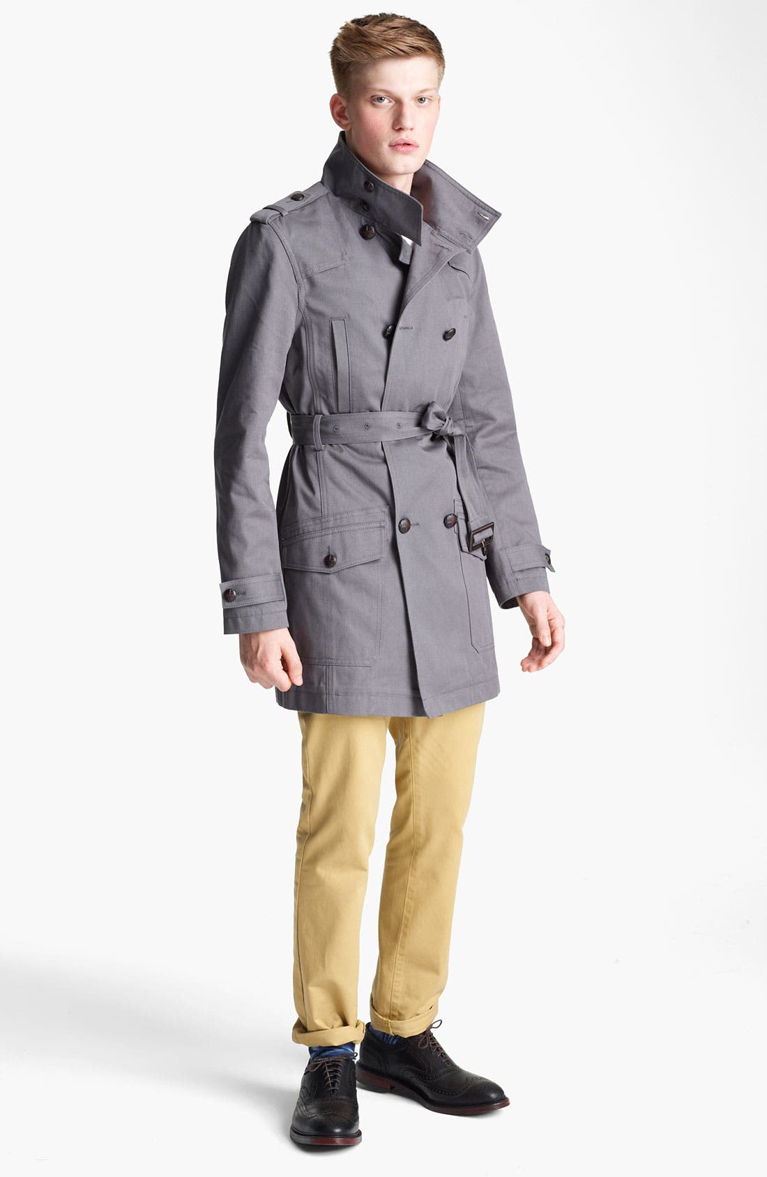 Alternate Image 4  - Topman 'Kennington' Full Length Jacket