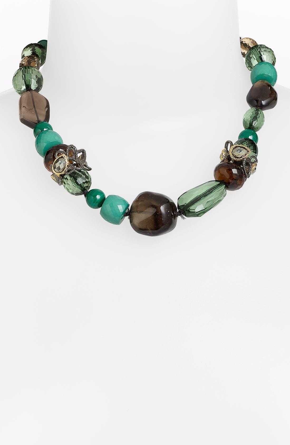 'Elements - Siyabona' Stone Necklace,                         Main,                         color, Green Multi