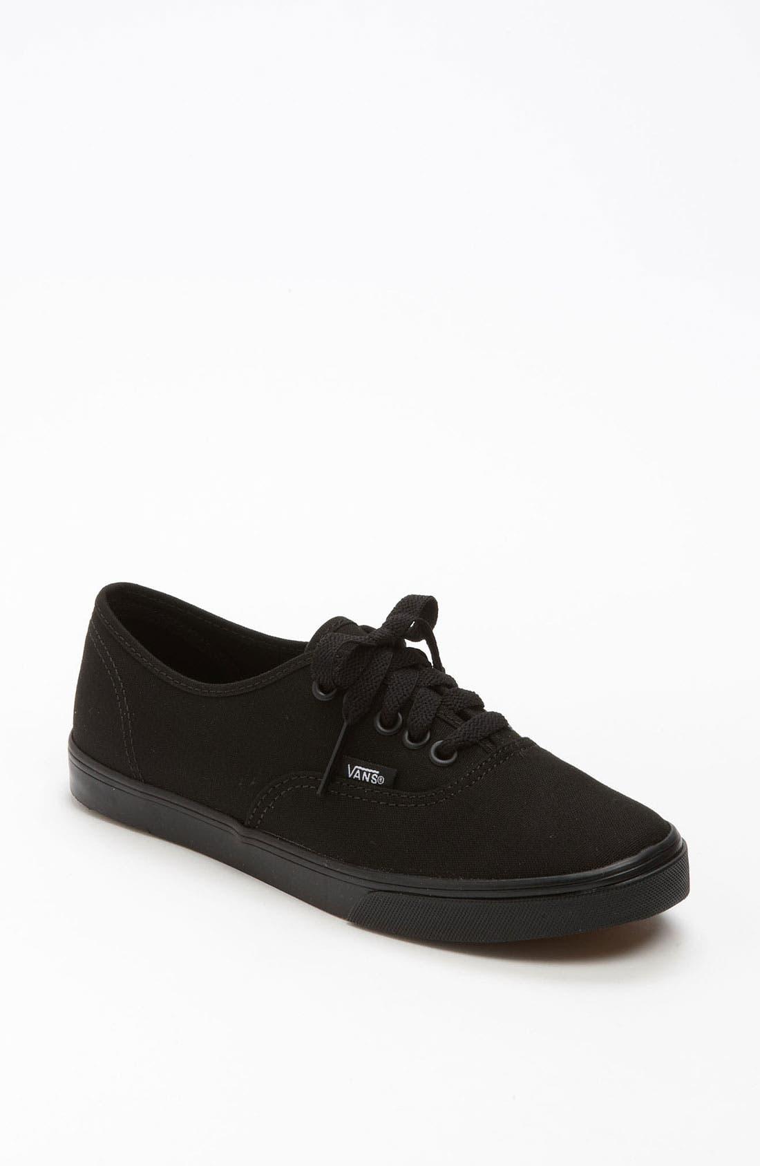 'Authentic - Lo Pro' Sneaker,                             Main thumbnail 1, color,                             Black