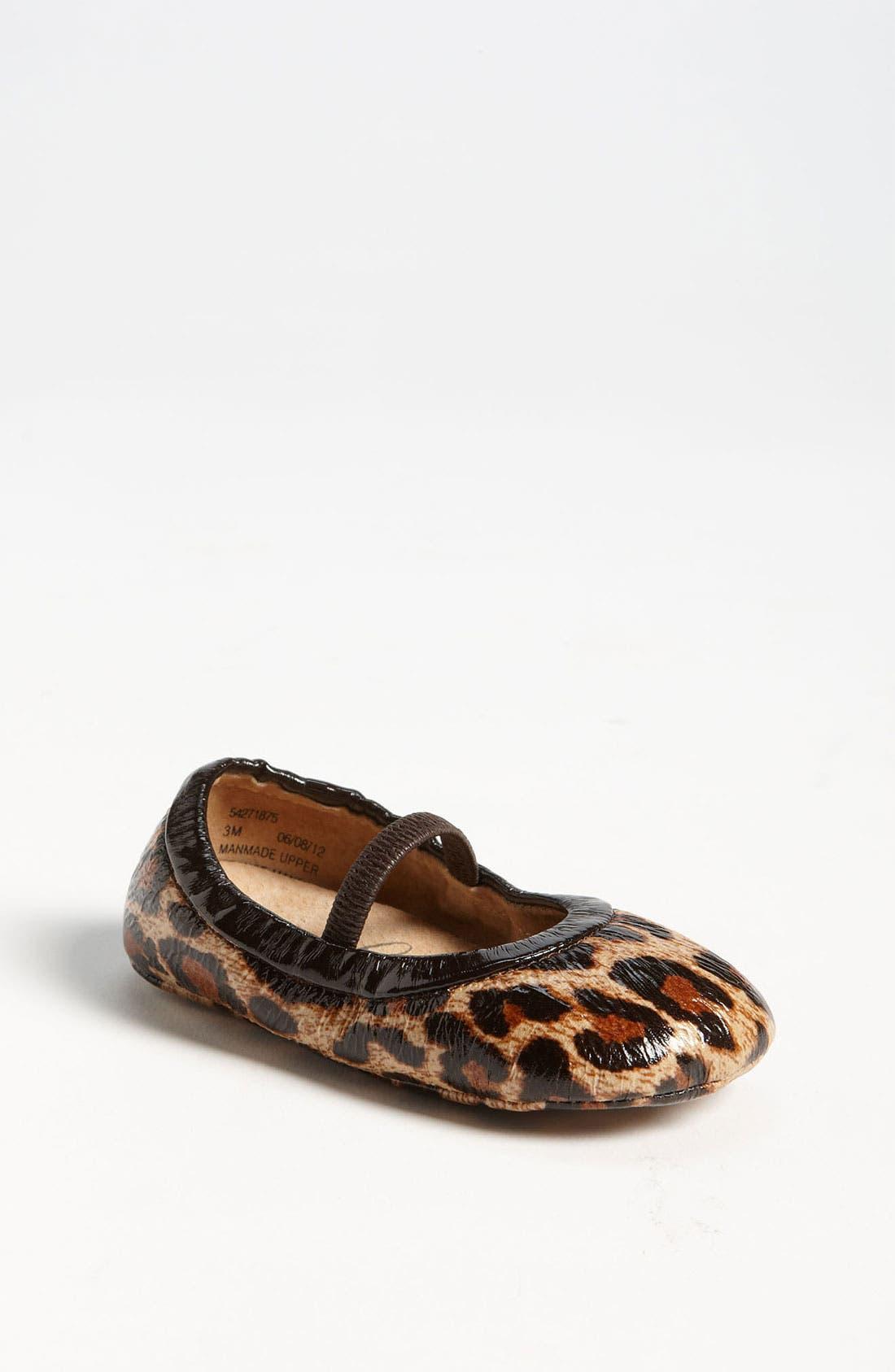 Alternate Image 1 Selected - Peek 'Prose' Crib Shoe (Baby)