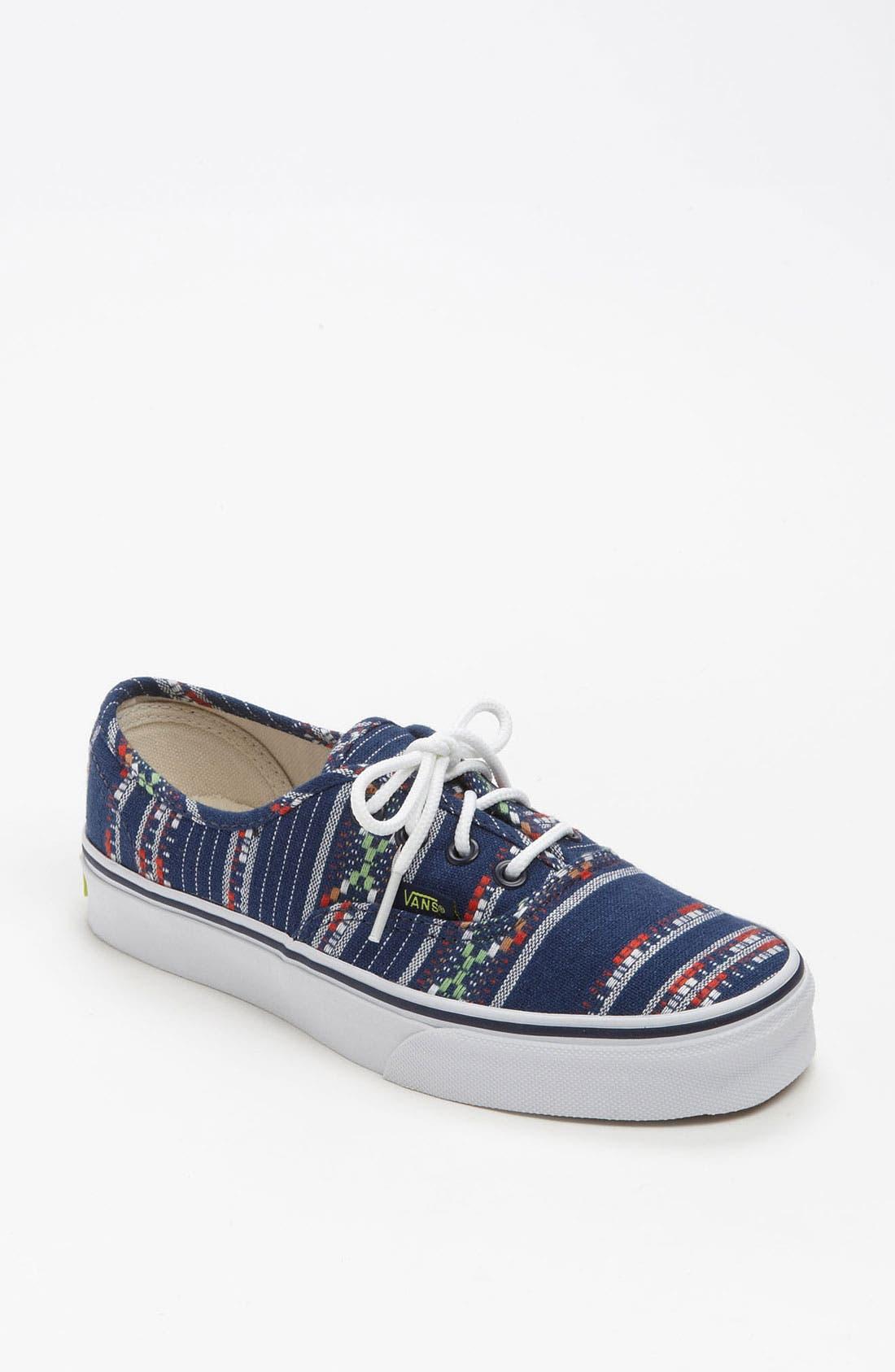 Alternate Image 1 Selected - Vans 'Authentic - Guate Stripe' Sneaker