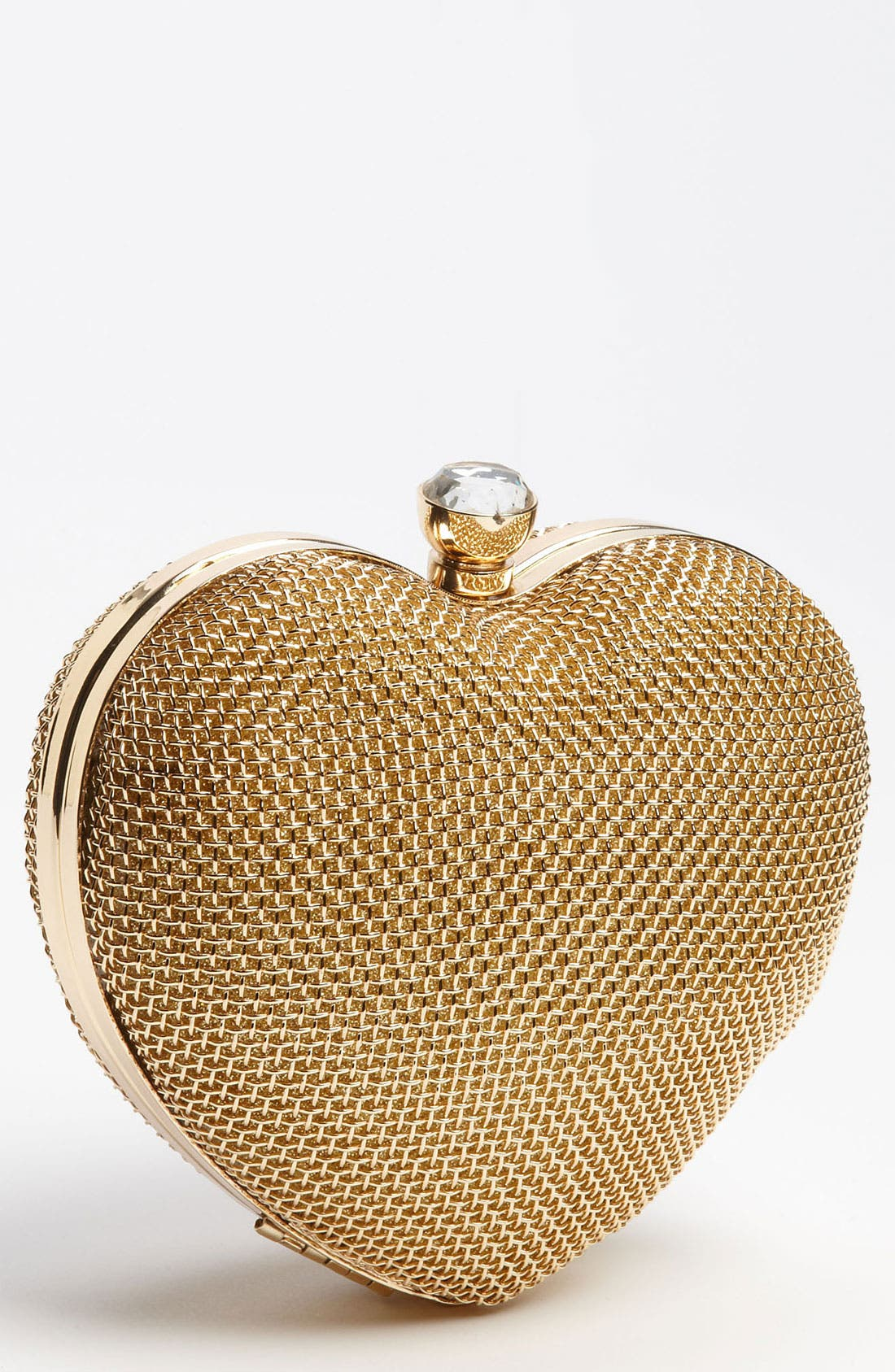 Alternate Image 1 Selected - Tasha Metal Heart Clutch