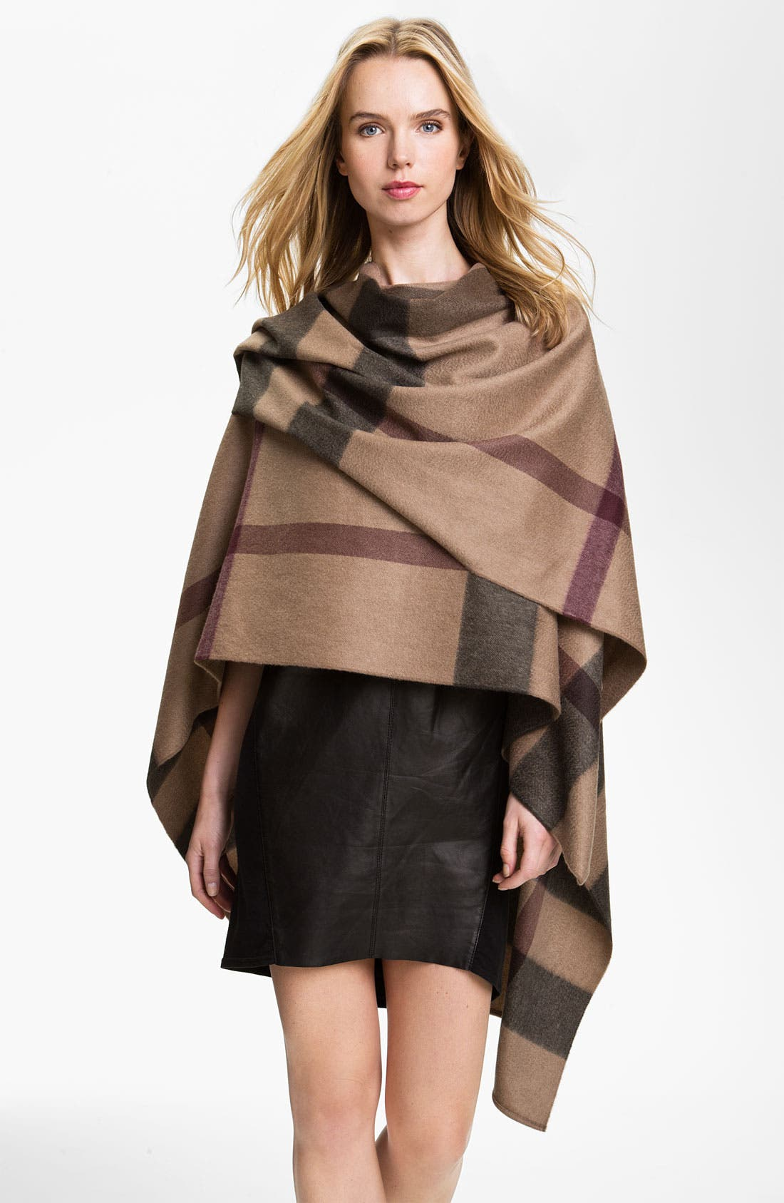 Alternate Image 1 Selected - Burberry London Cashmere Serape