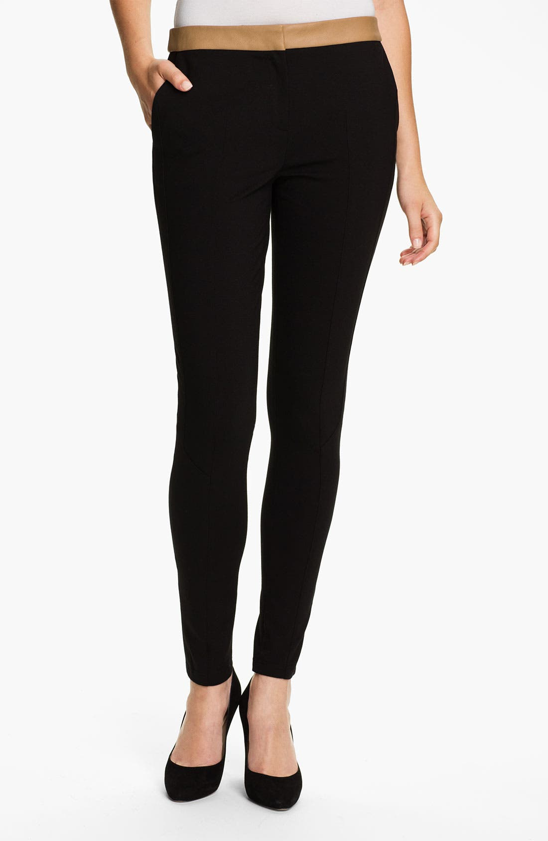 Alternate Image 1 Selected - Ted Baker London Ponte Skinny Pants
