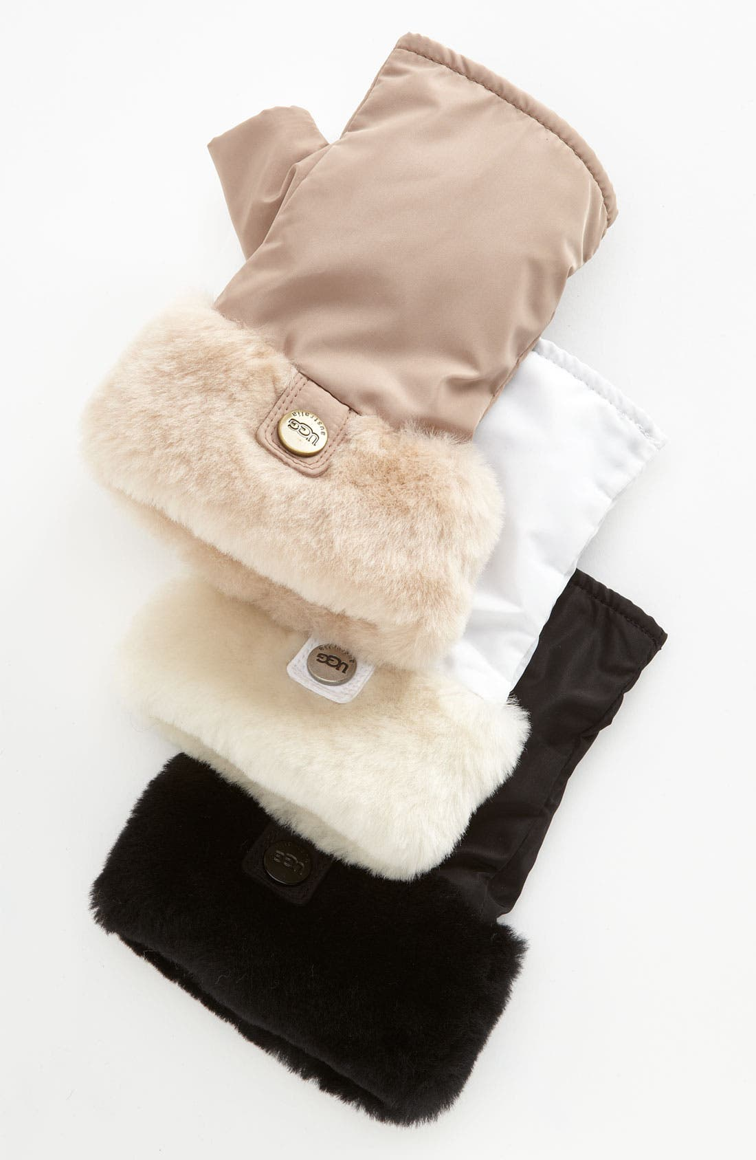 Alternate Image 1 Selected - UGG® Australia Fingerless Gloves