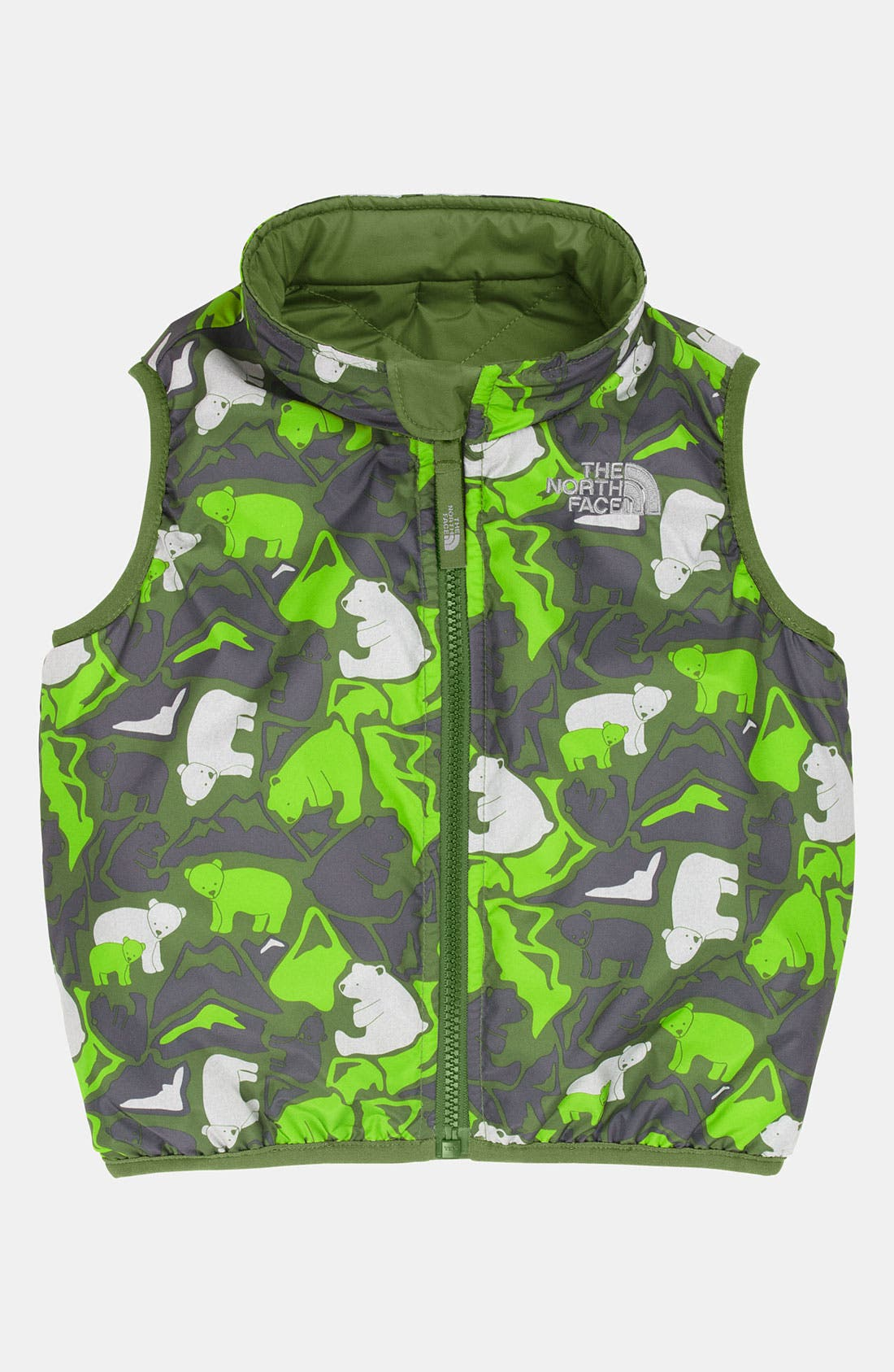 Alternate Image 2  - The North Face 'Perrito' Reversible Vest (Infant)