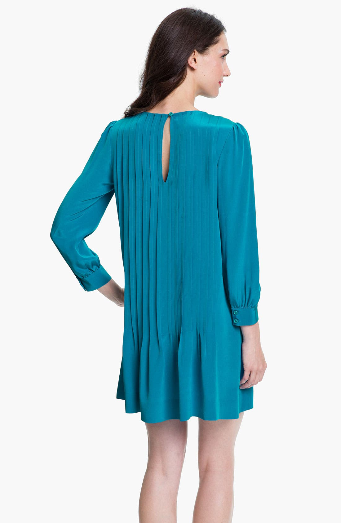 Alternate Image 2  - kate spade new york 'arden' silk shift dress