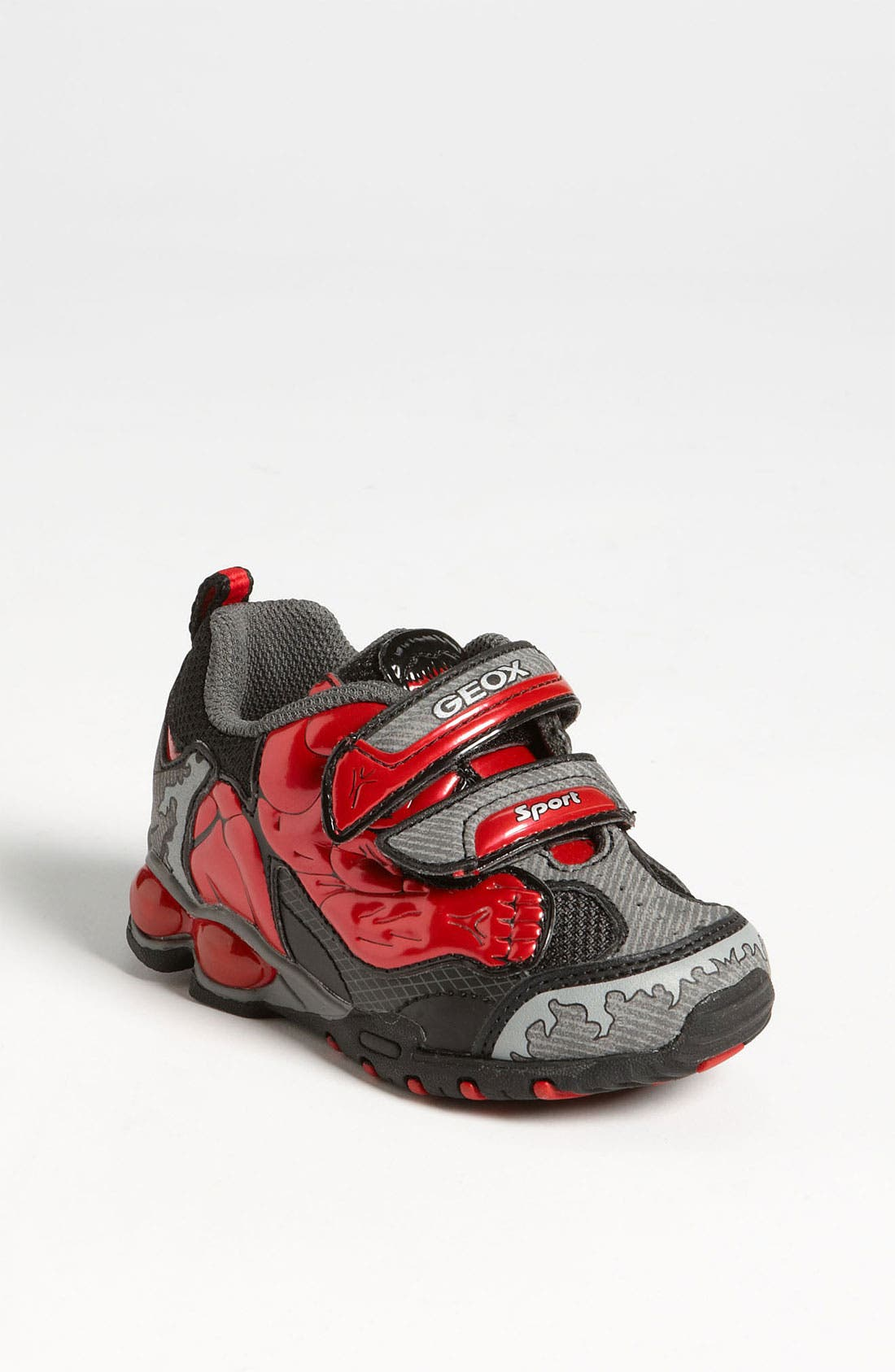 Alternate Image 1 Selected - Geox 'Fighter' Light-Up Sneaker (Walker & Toddler)