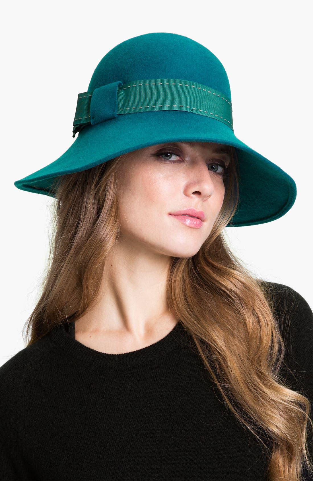 Main Image - Nordstrom Down Brim Wool Hat
