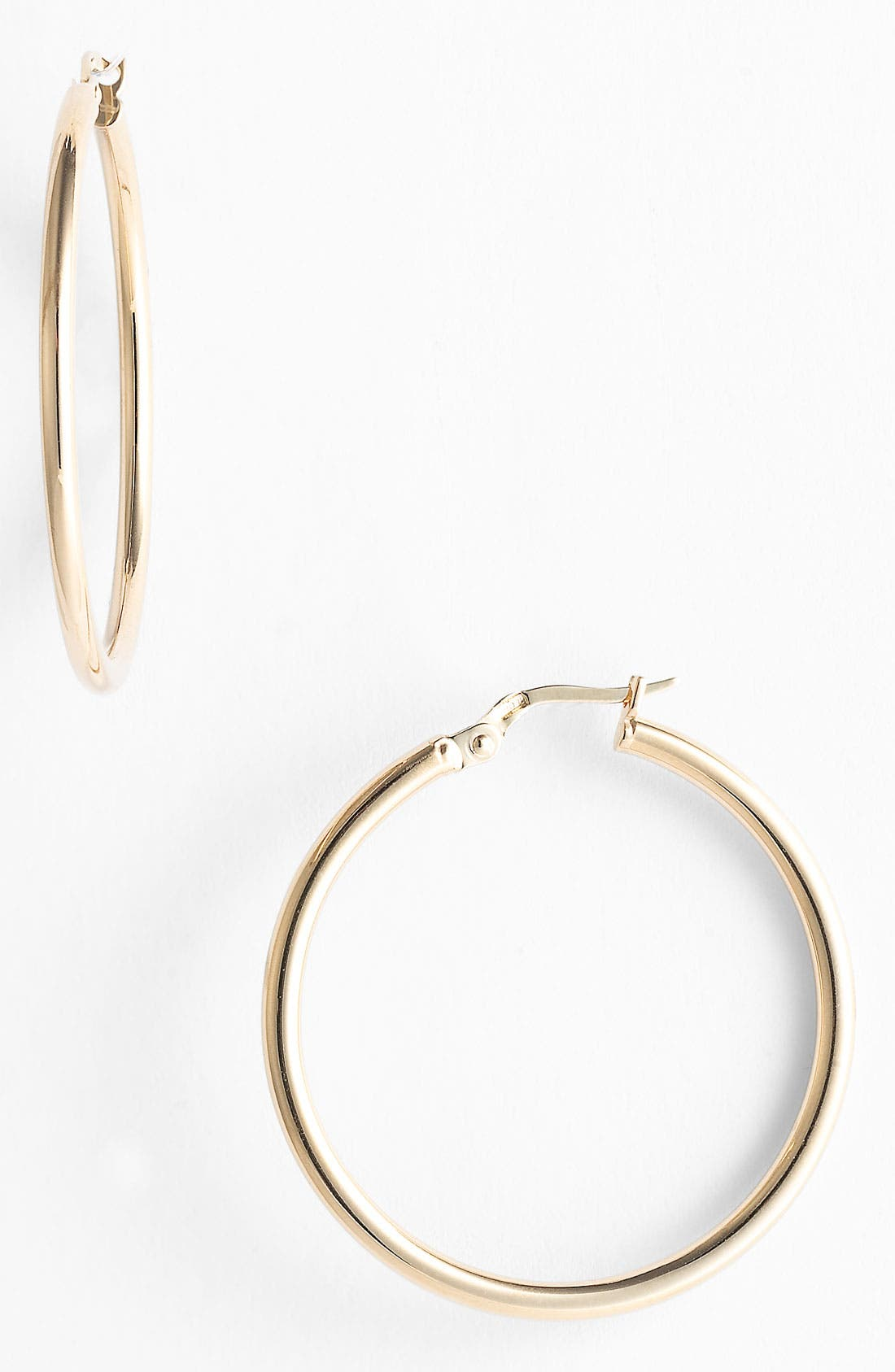 Alternate Image 1 Selected - Roberto Coin 35mm Gold Hoop Earrings
