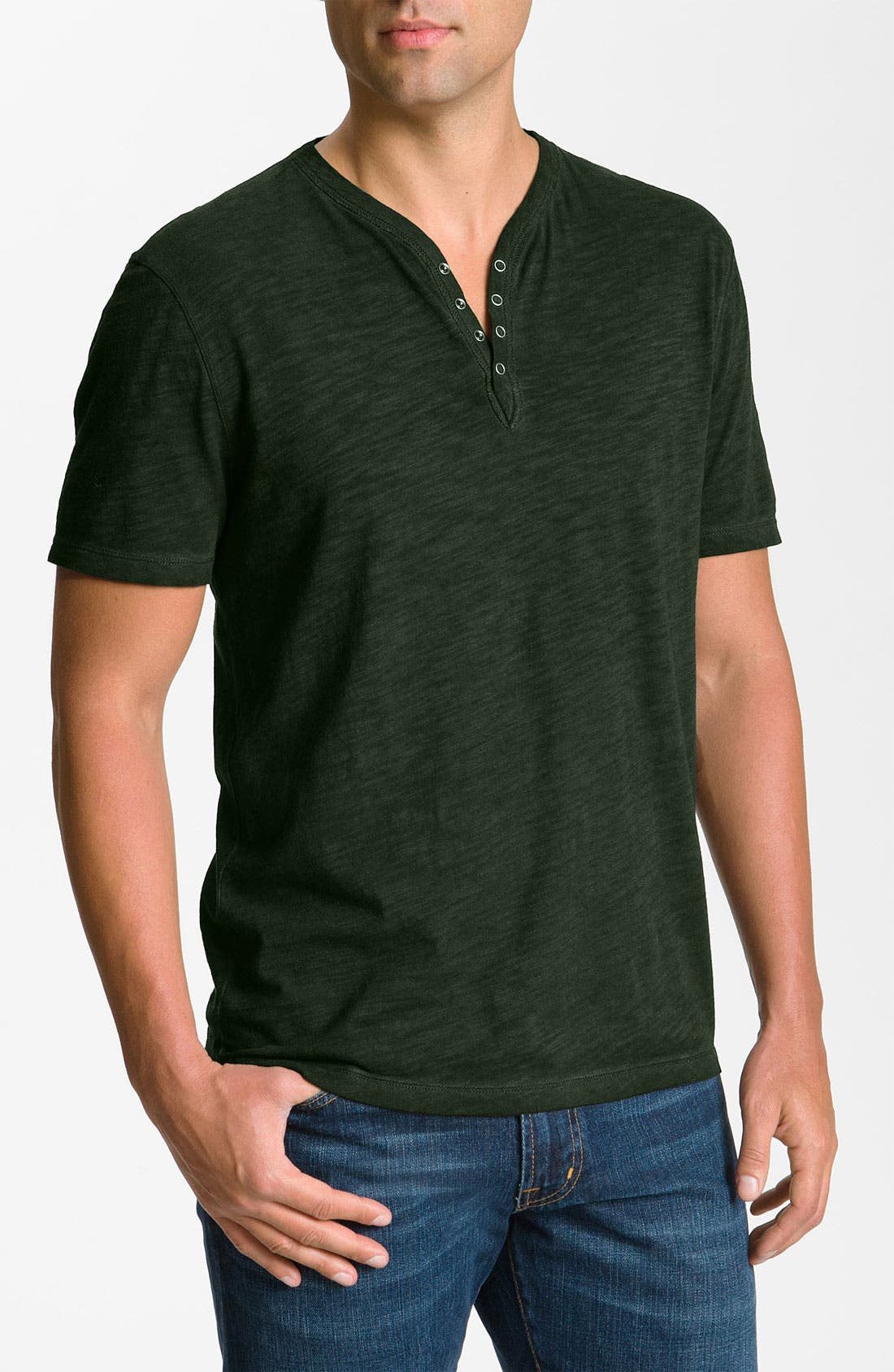 Alternate Image 1 Selected - John Varvatos Star USA Short Sleeve Henley