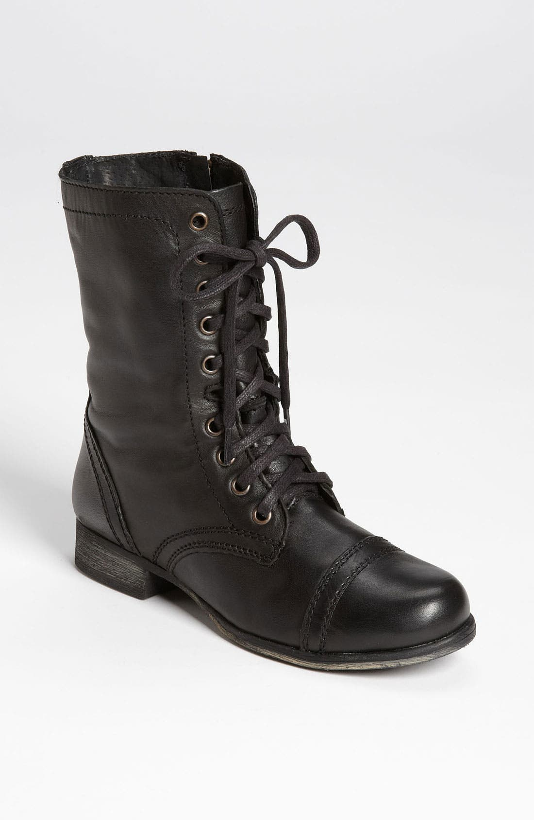 'Troopa' Boot,                         Main,                         color, Black Leather