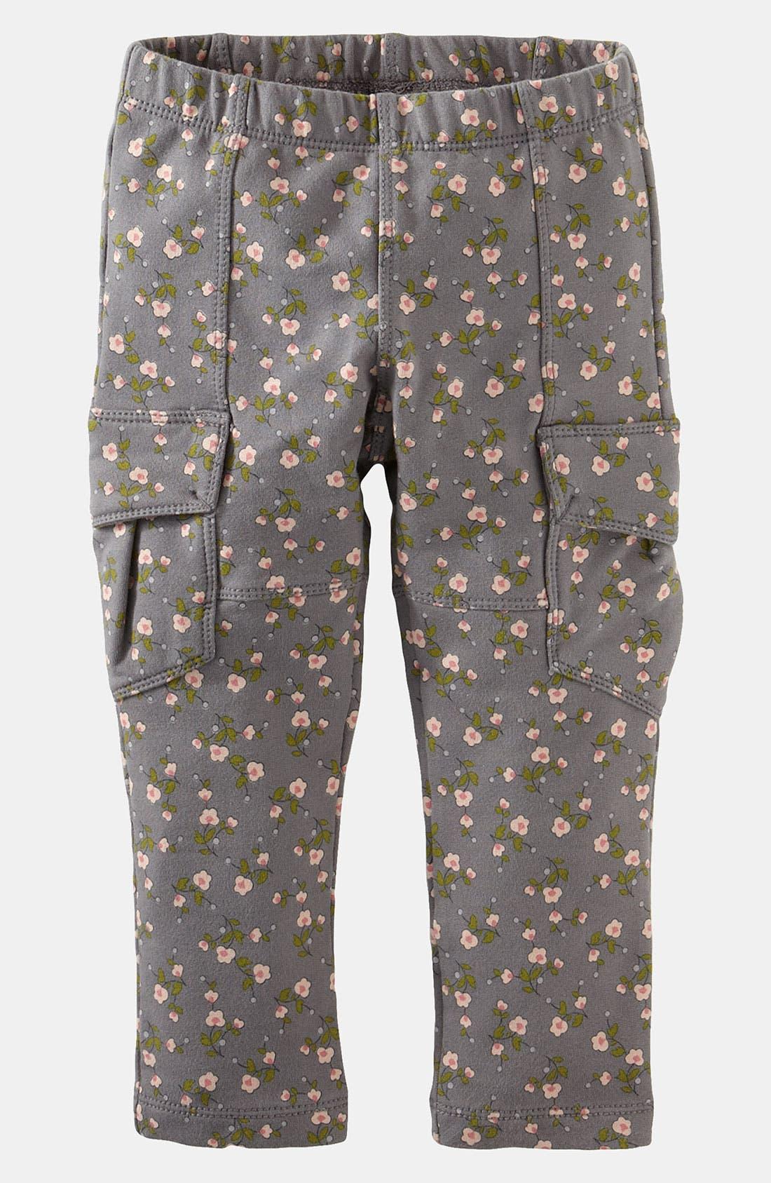 Alternate Image 1 Selected - Tea Collection Cargo Pants (Little Girls & Big Girls)
