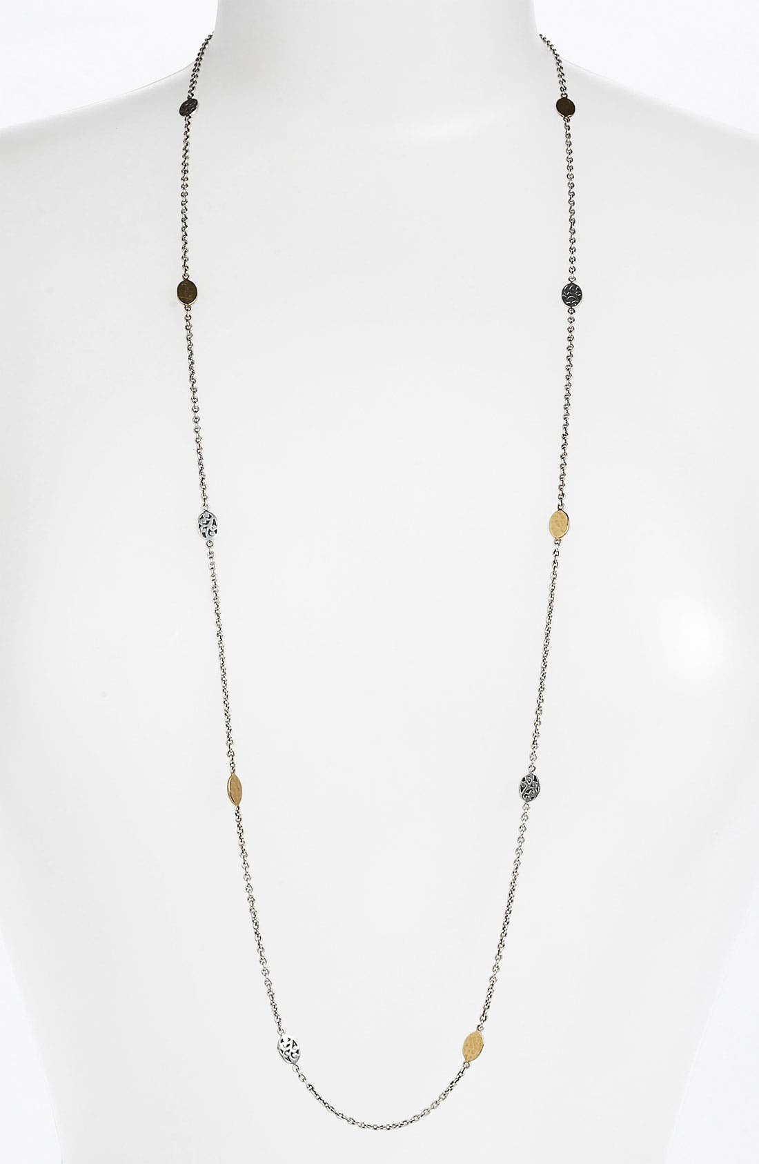 Alternate Image 1 Selected - Lois Hill 'Marquise' Long Station Necklace