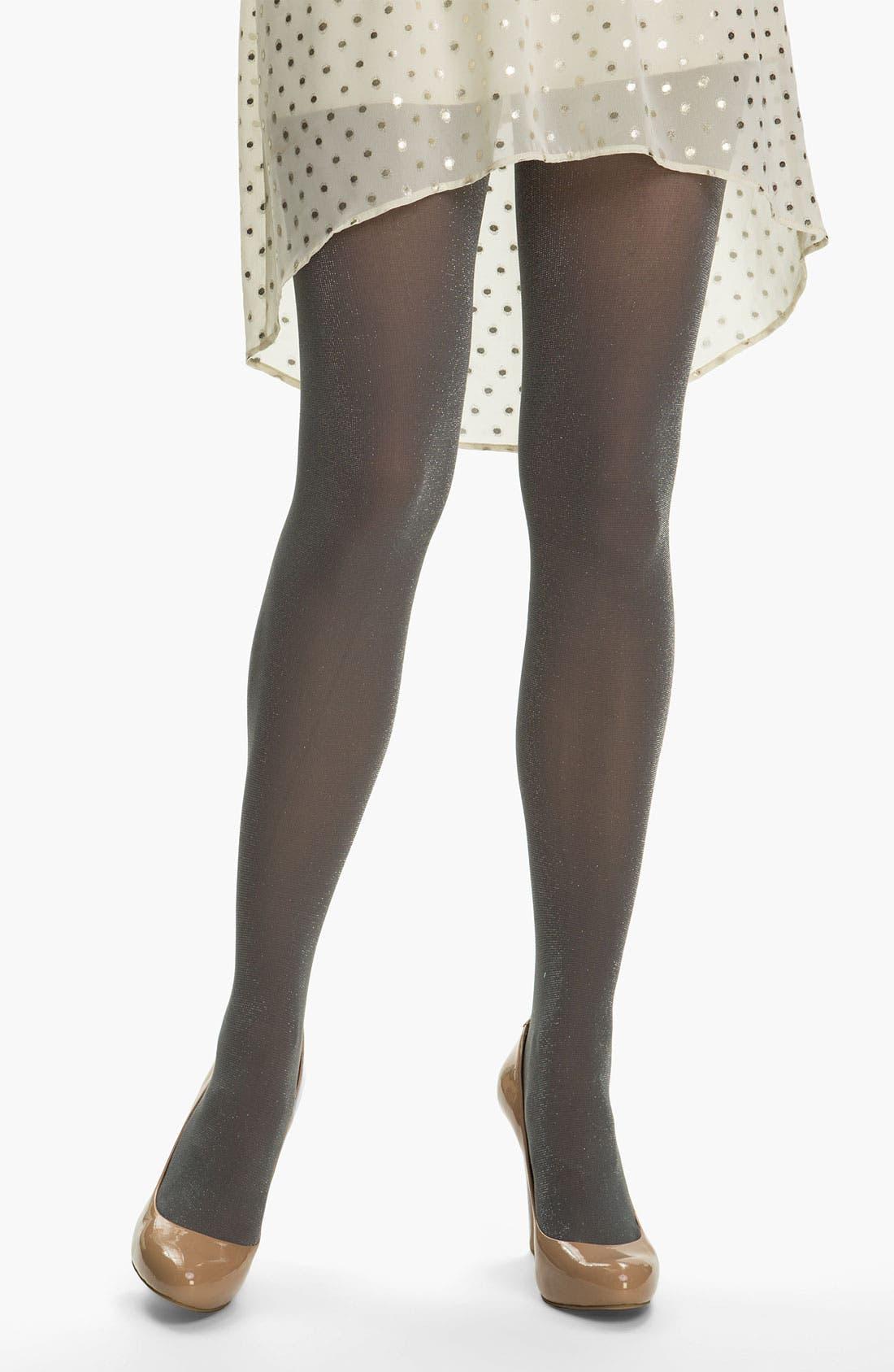 Main Image - DKNY 'Shimmer' Tights