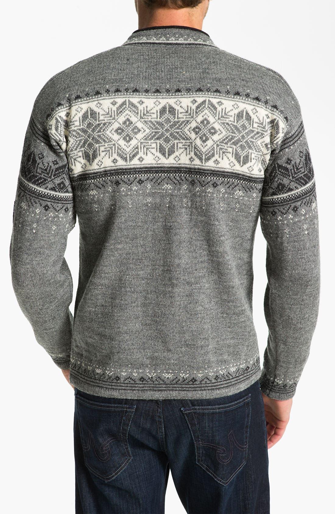 Alternate Image 2  - Dale of Norway 'Blyfjell' Quarter Zip Wool Sweater