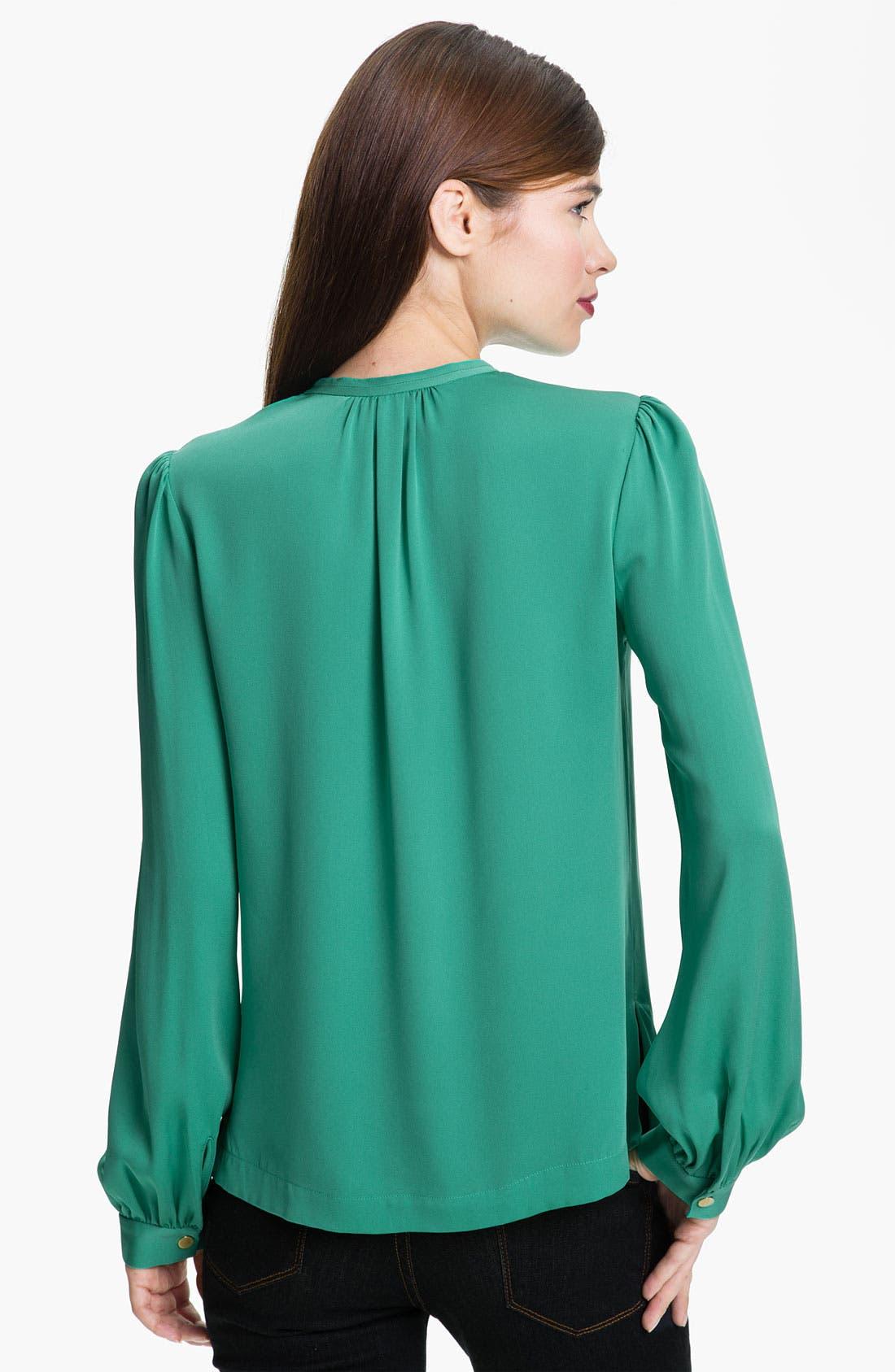 Alternate Image 2  - Diane von Furstenberg 'Billow' Silk Blouse