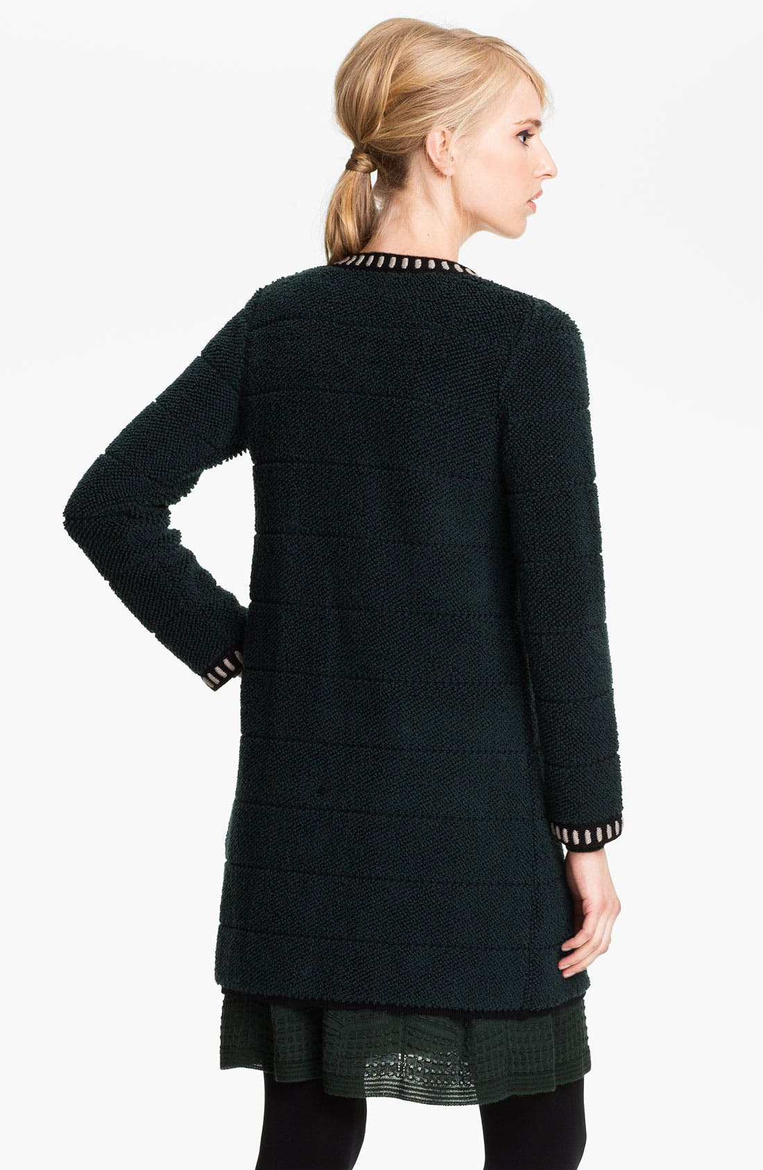 Alternate Image 2  - M Missoni Loop Stitch Sweater Coat