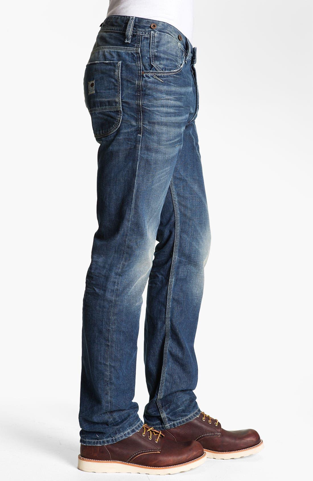 Alternate Image 3  - DIESEL® 'Ty-Tool' Straight Leg Jeans (0804N)