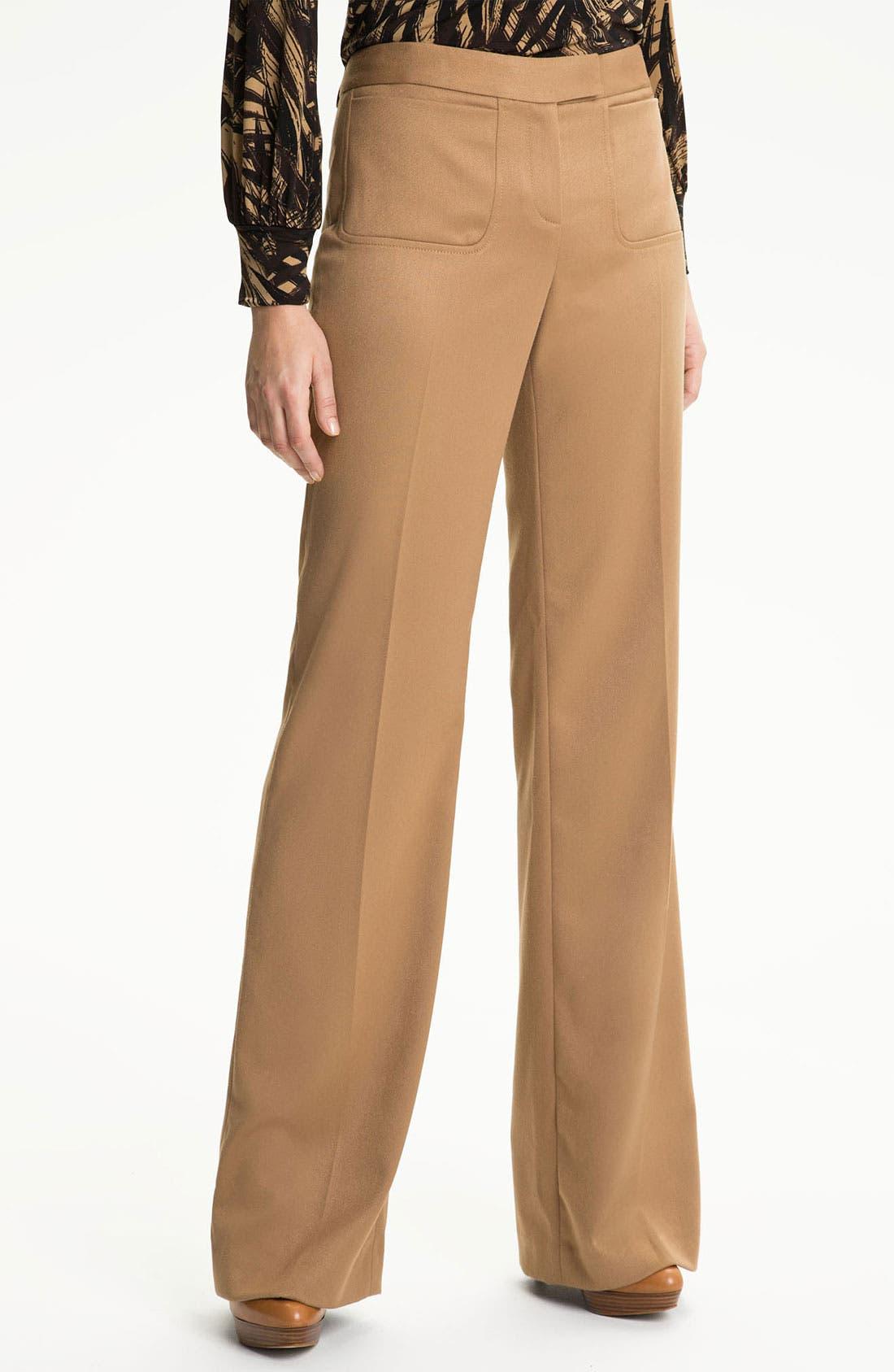 Alternate Image 1 Selected - Anne Klein Wide Leg Pants (Petite)