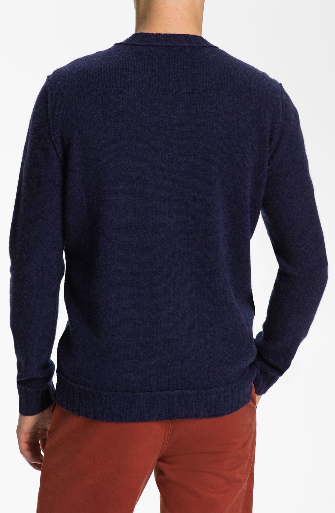 Alternate Image 2  - BOSS Orange Wool Crewneck Sweater