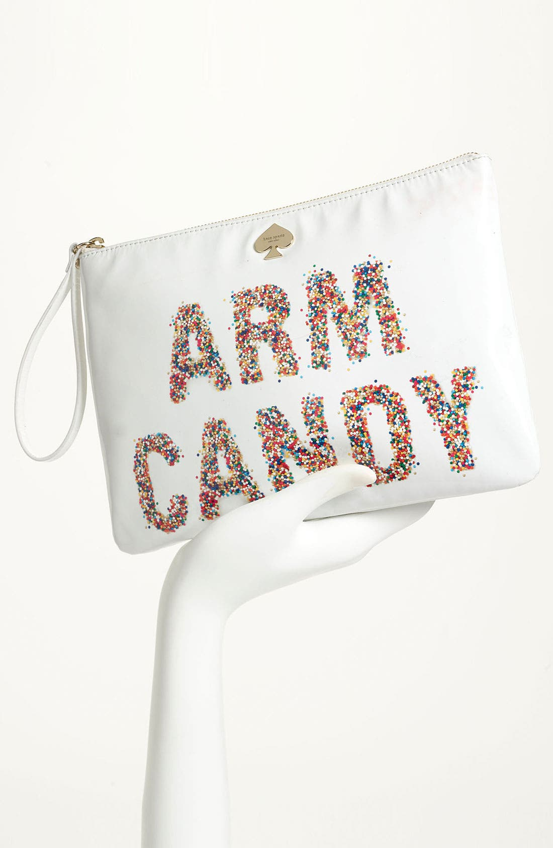 Alternate Image 2  - kate spade new york 'arm candy' leather pouch