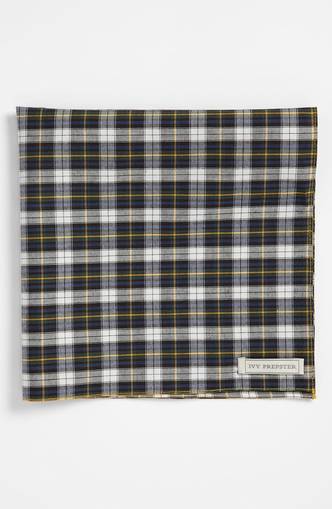 Alternate Image 1 Selected - Ivy Prepster 'Charlesfield' Plaid Pocket Square