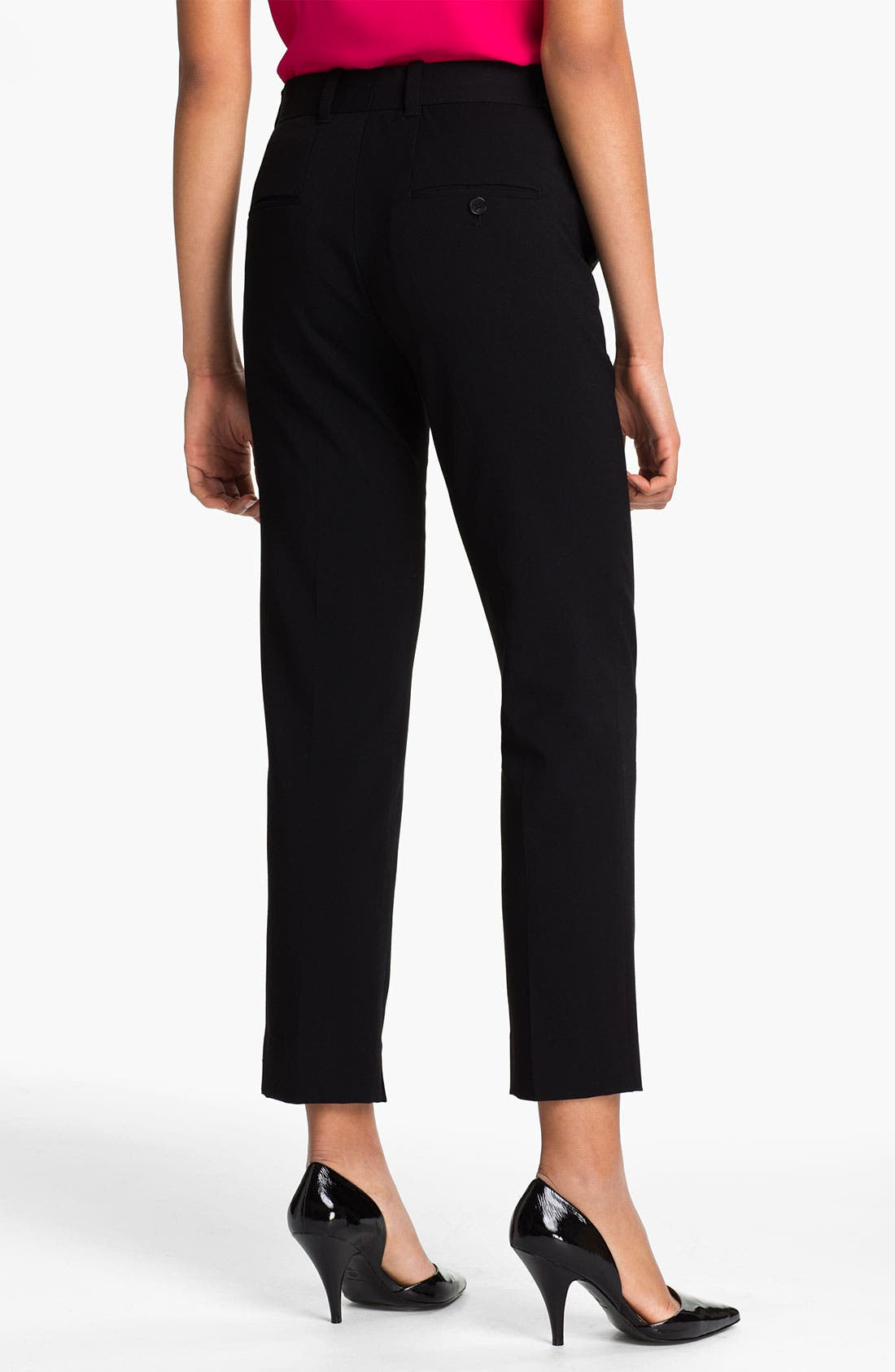Alternate Image 2  - 3.1 Phillip Lim Crop Wool Blend Trousers