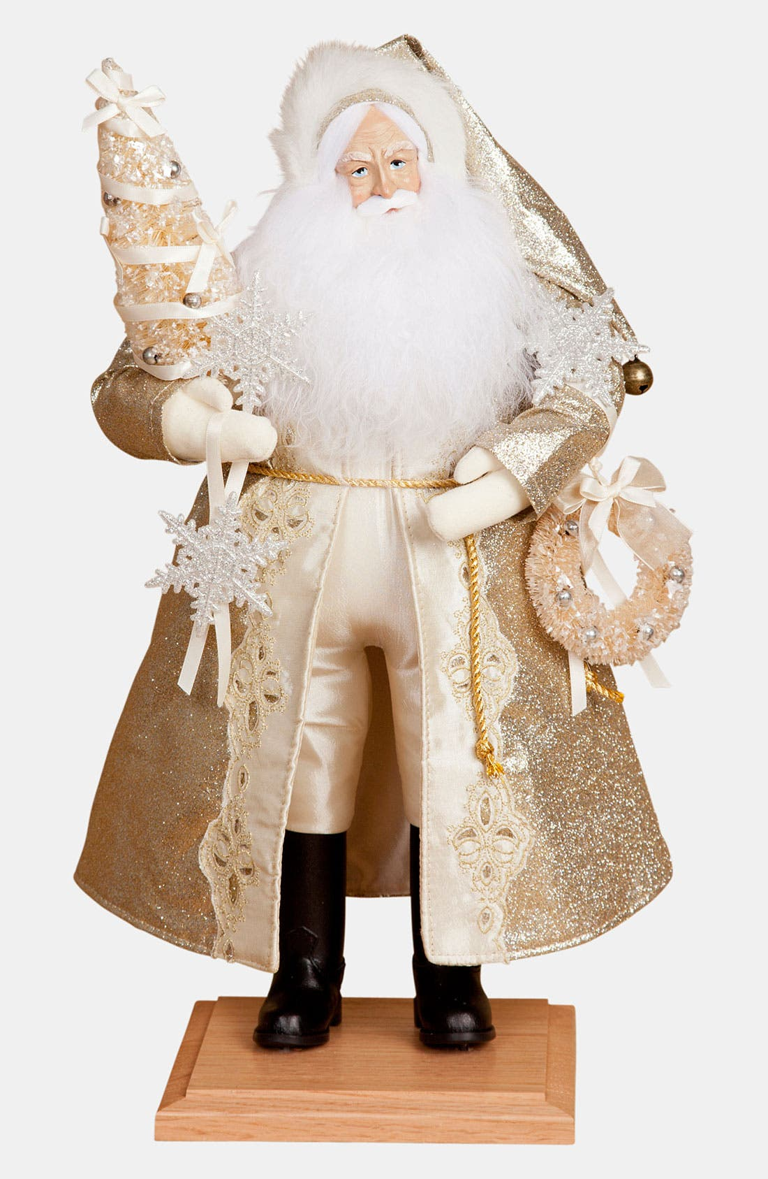 Main Image - Lynn Haney 'Golden Glimmer' Santa Figurine