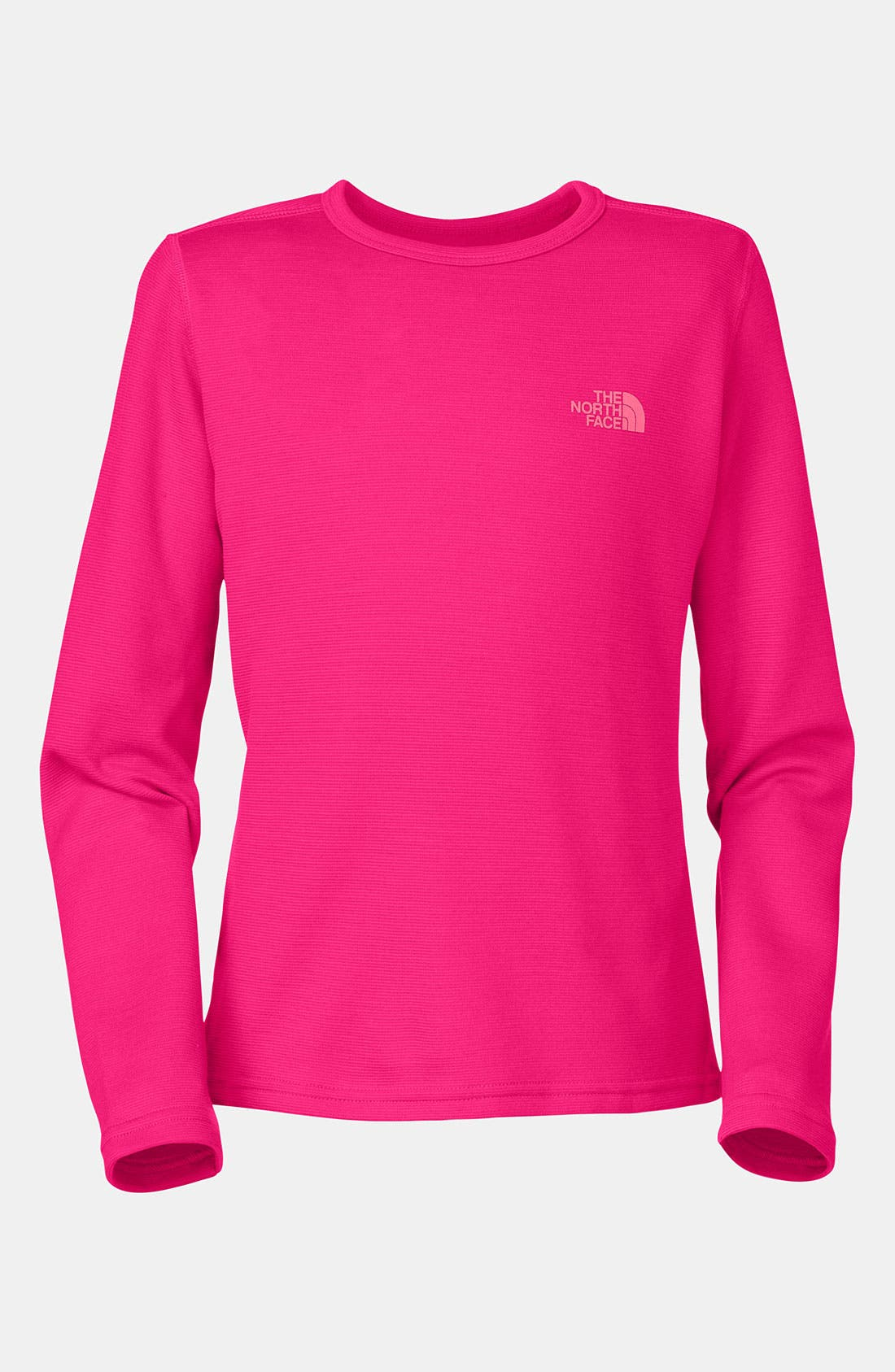 Alternate Image 1 Selected - The North Face 'Base Layer' Tee (Little Girls & Big Girls)