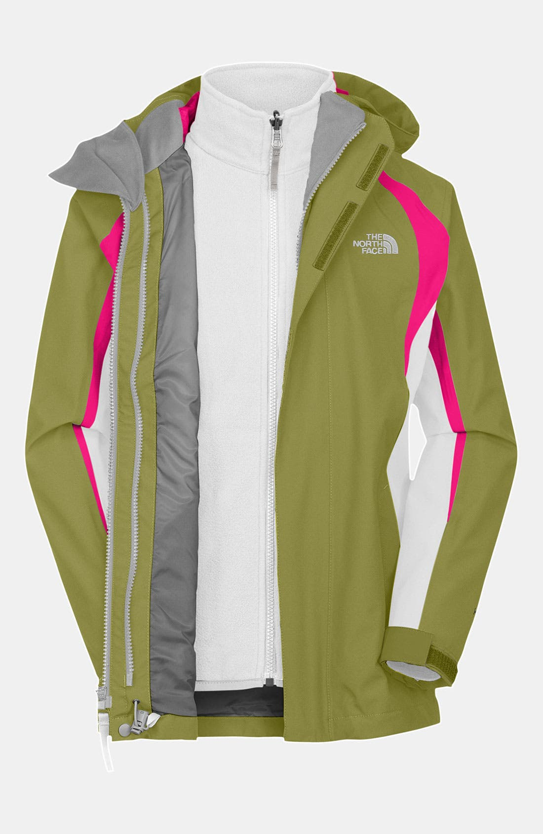 Alternate Image 1 Selected - The North Face 'Mountain View TriClimate™' Jacket (Big Girls)