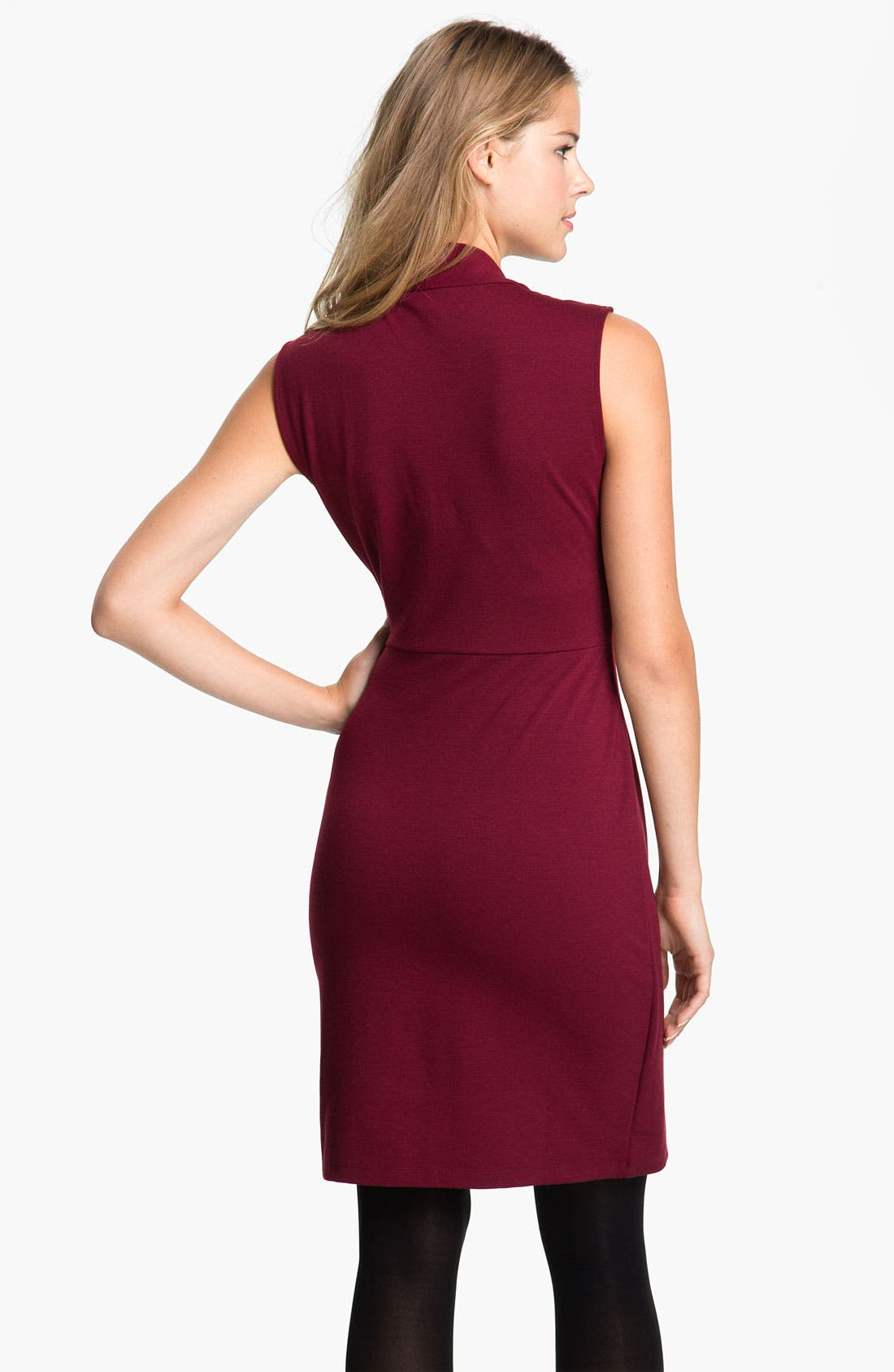 Alternate Image 2  - Kenneth Cole New York 'Lindsey' Ponte Dress (Petite)