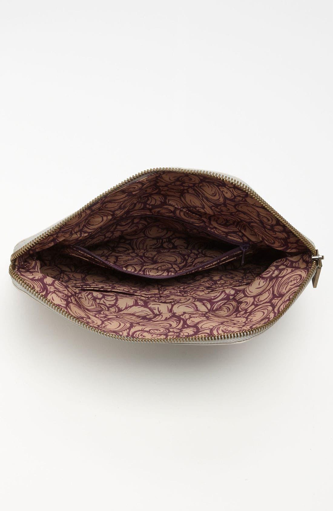 Alternate Image 3  - Hobo 'Effe - Small' Glazed Leather Wallet