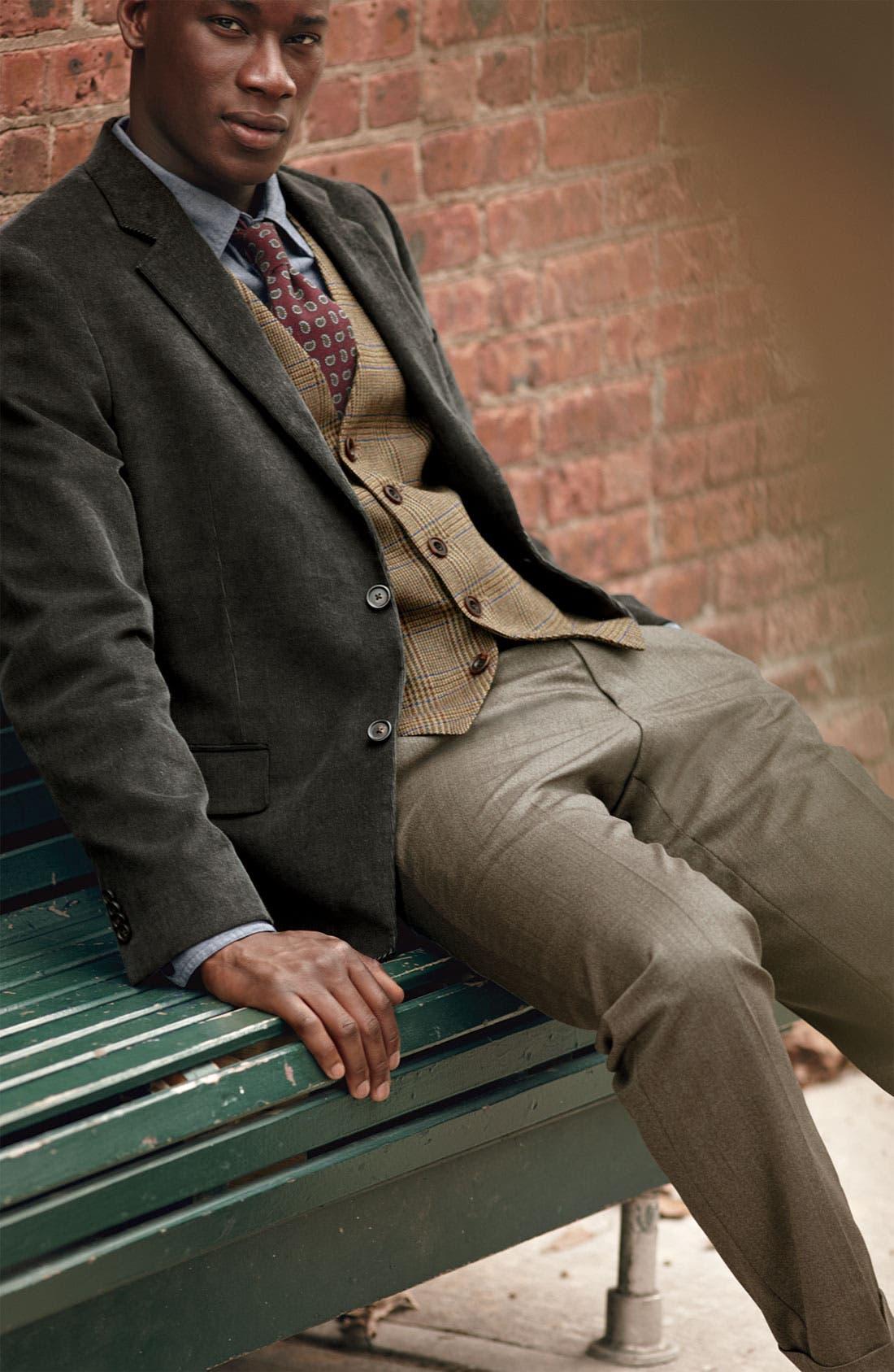 Alternate Image 6  - John W. Nordstrom® Plaid Wool Vest