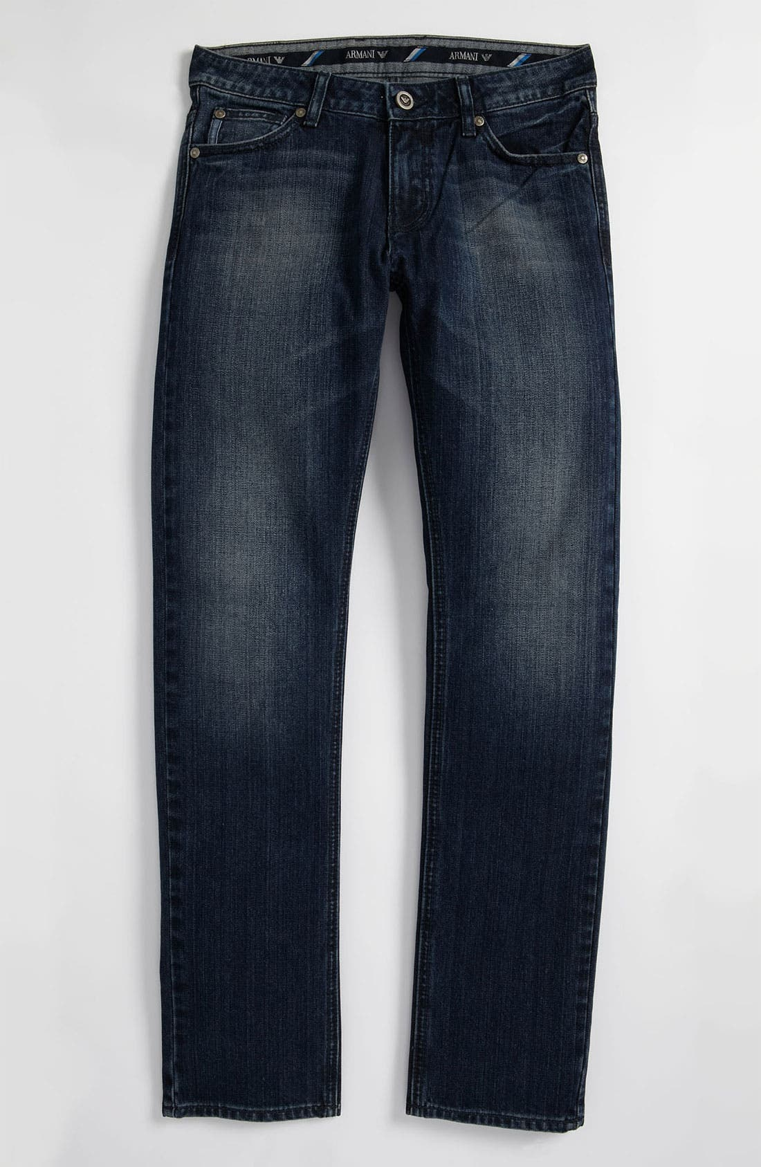 Alternate Image 2  - Armani Junior Straight Leg Jeans (Big Boys)