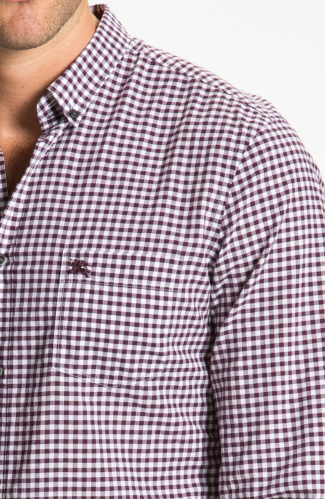 Alternate Image 3  - Burberry Brit Woven Sport Shirt
