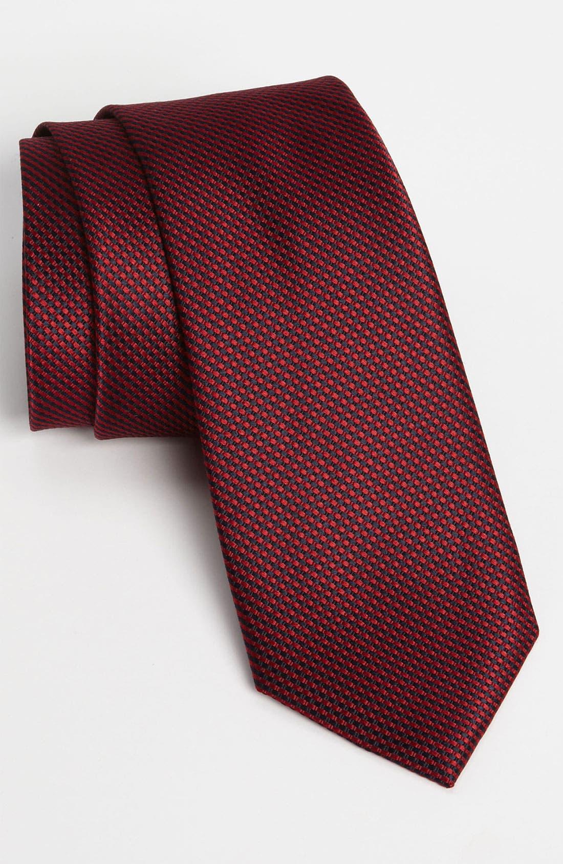 Main Image - Calibrate Woven Silk Tie